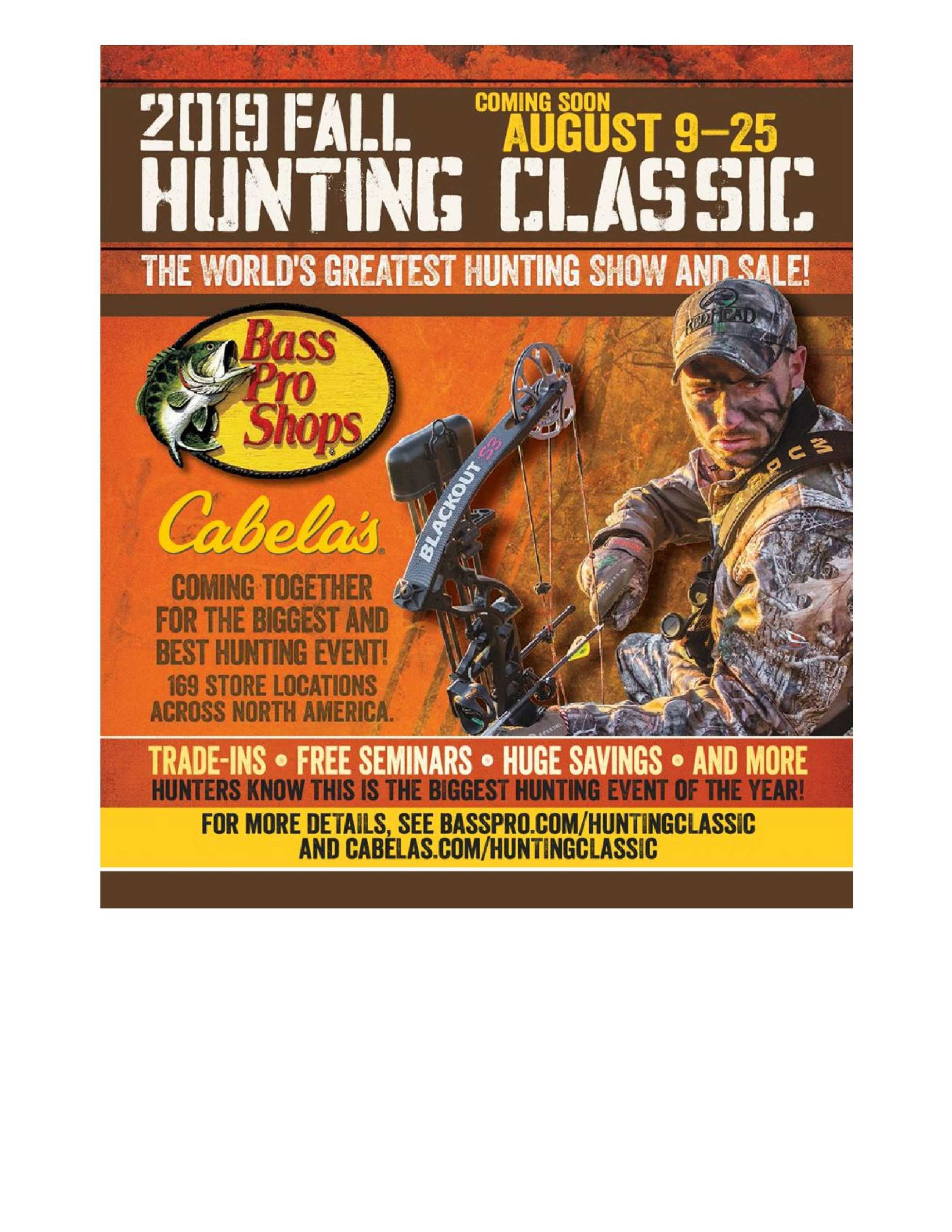 Bass Pro Shops - promo starting from 09/01/19 to 12/28/19 - page 4.