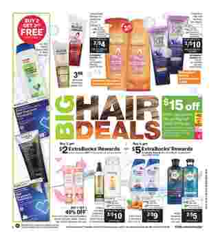 CVS - deals are valid from 03/22/20 to 03/28/20 - page 8.