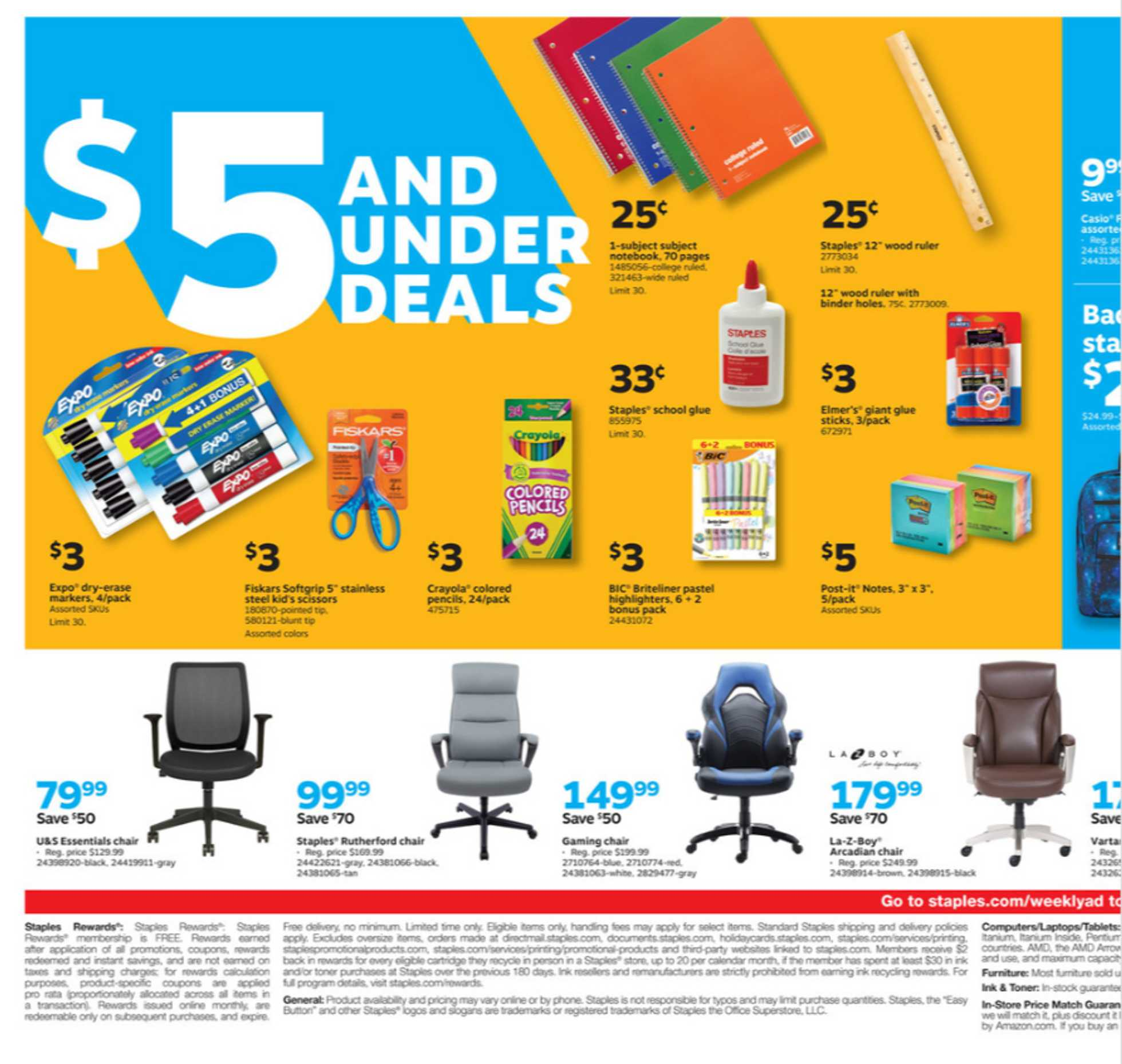 Staples - deals are valid from 07/05/20 to 07/11/20 - page 2.