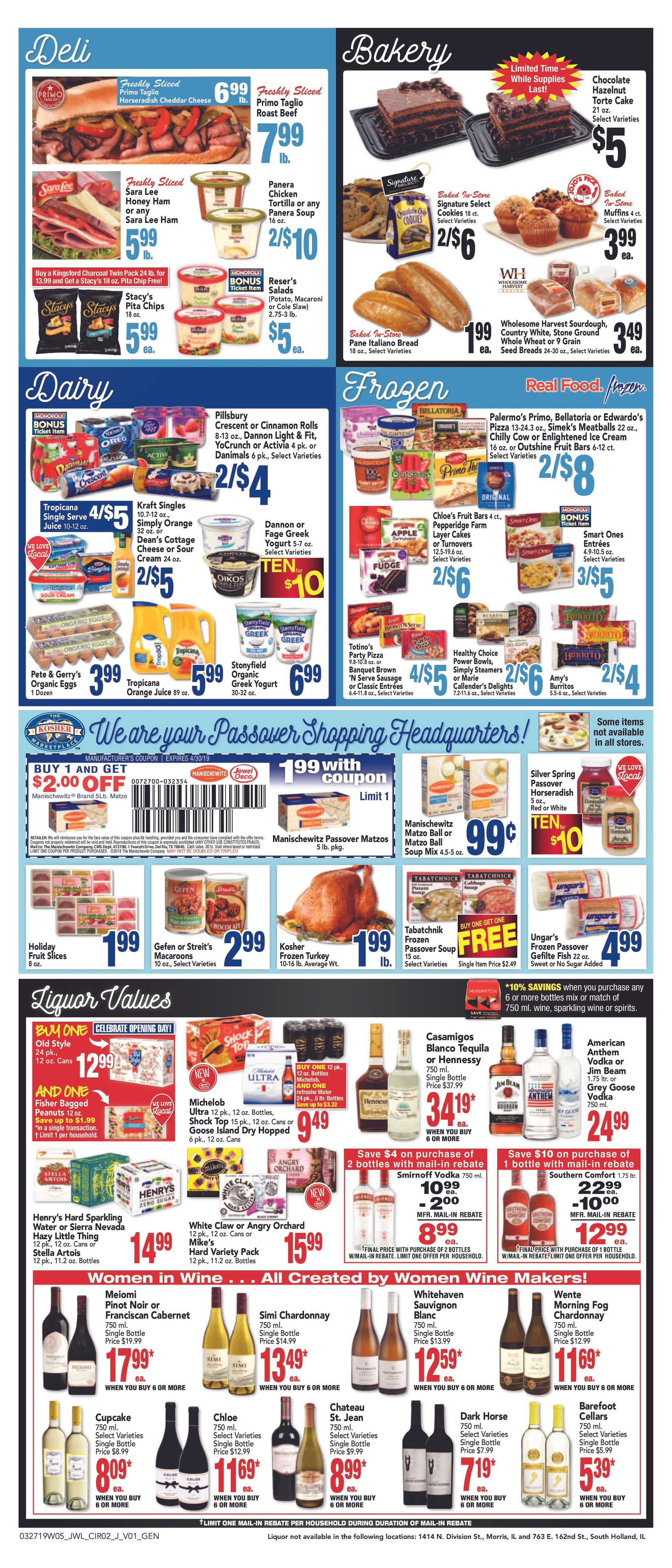 Jewel Osco - deals are valid from 03/27/19 to 04/02/19 - page 4.