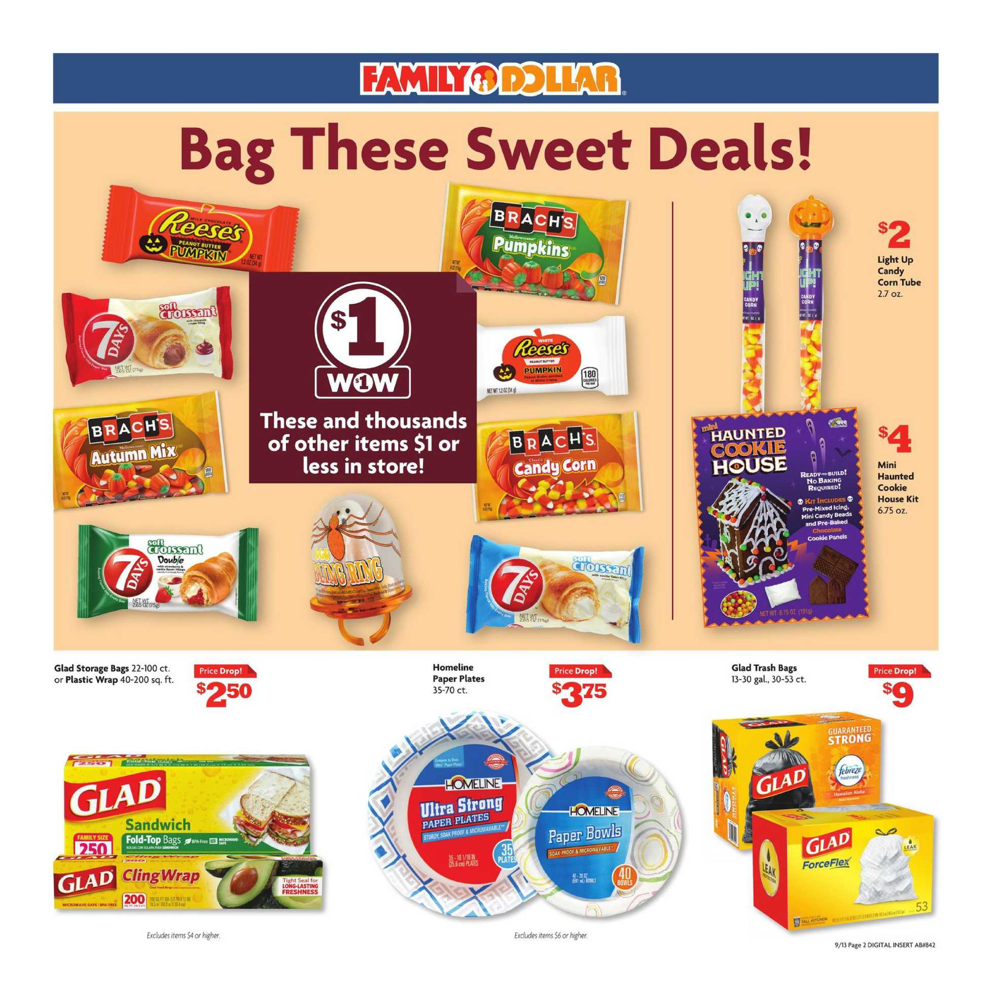 Family Dollar - deals are valid from 09/13/20 to 09/19/20 - page 2.