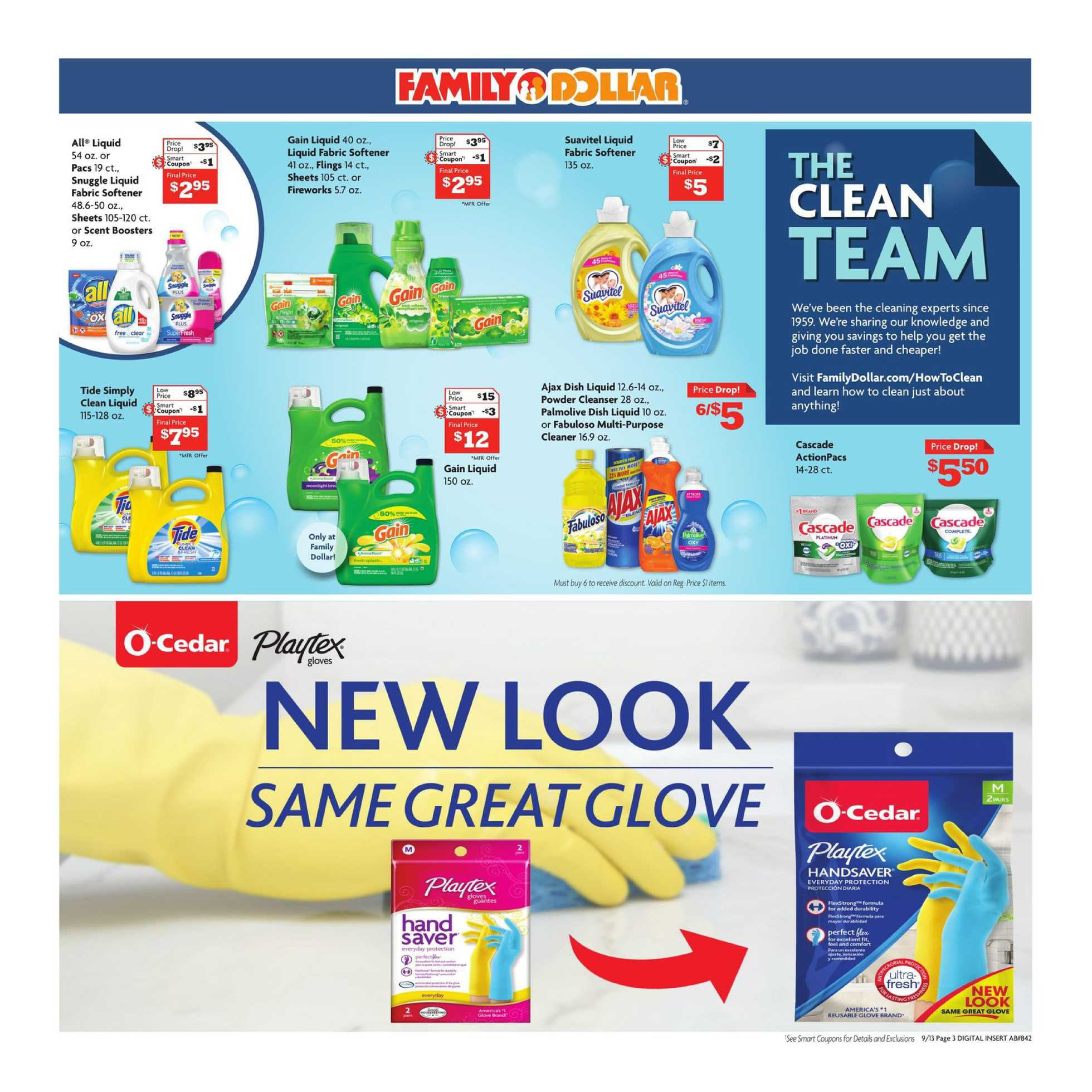 Family Dollar - deals are valid from 09/13/20 to 09/19/20 - page 3.