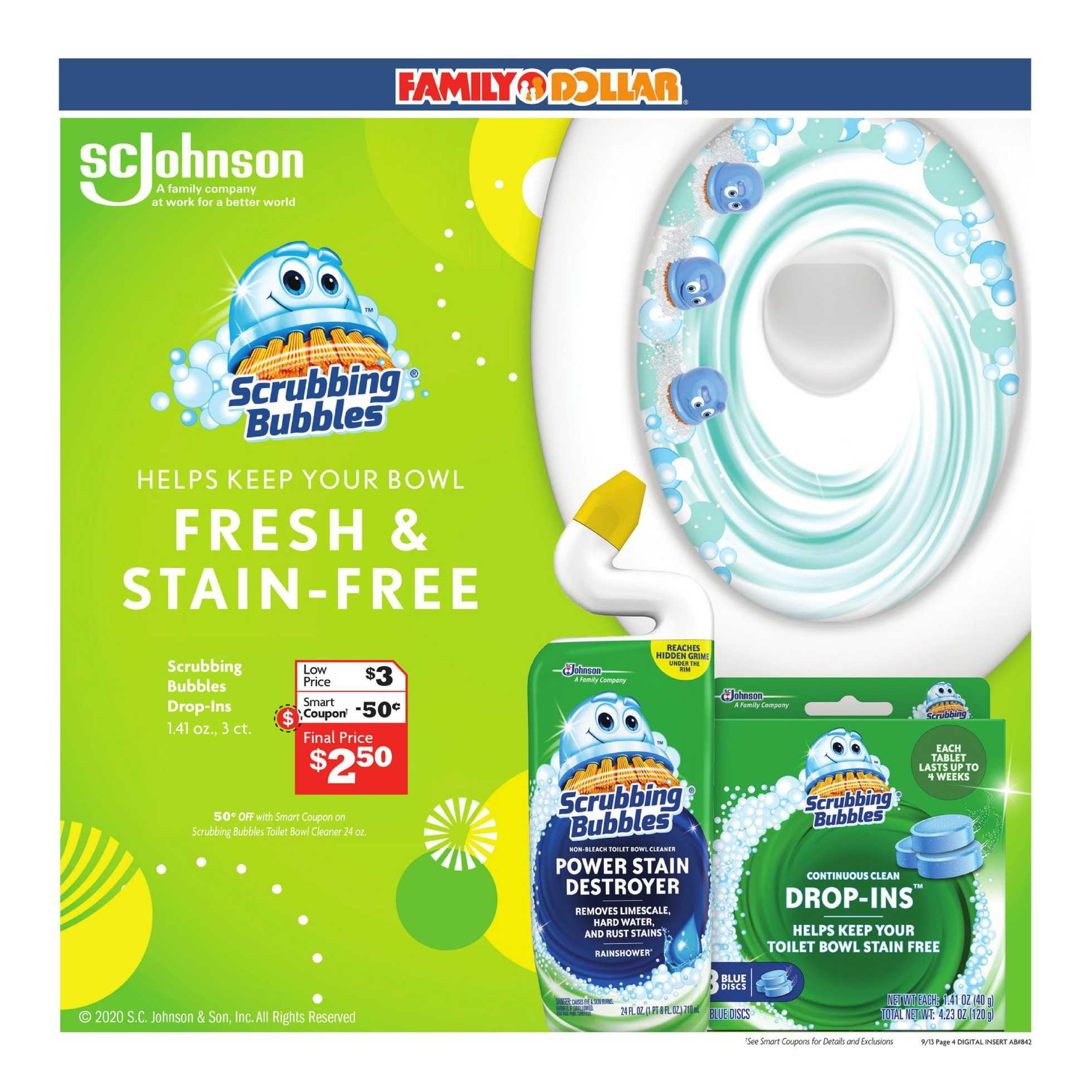 Family Dollar - deals are valid from 09/13/20 to 09/19/20 - page 4.