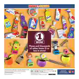 Family Dollar - deals are valid from 09/13/20 to 09/19/20 - page 9.