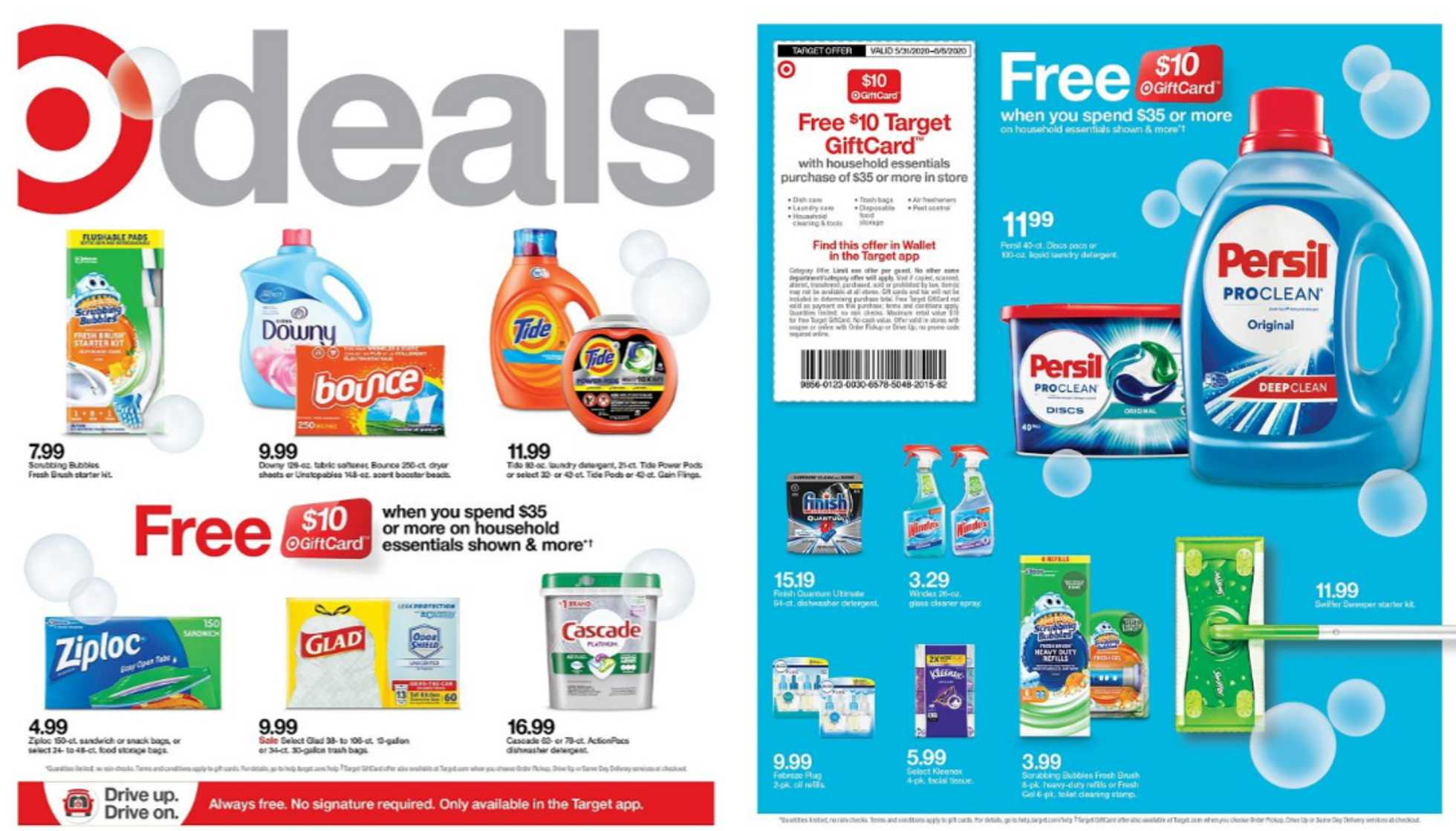 Target - deals are valid from 05/31/20 to 06/06/20 - page 1.