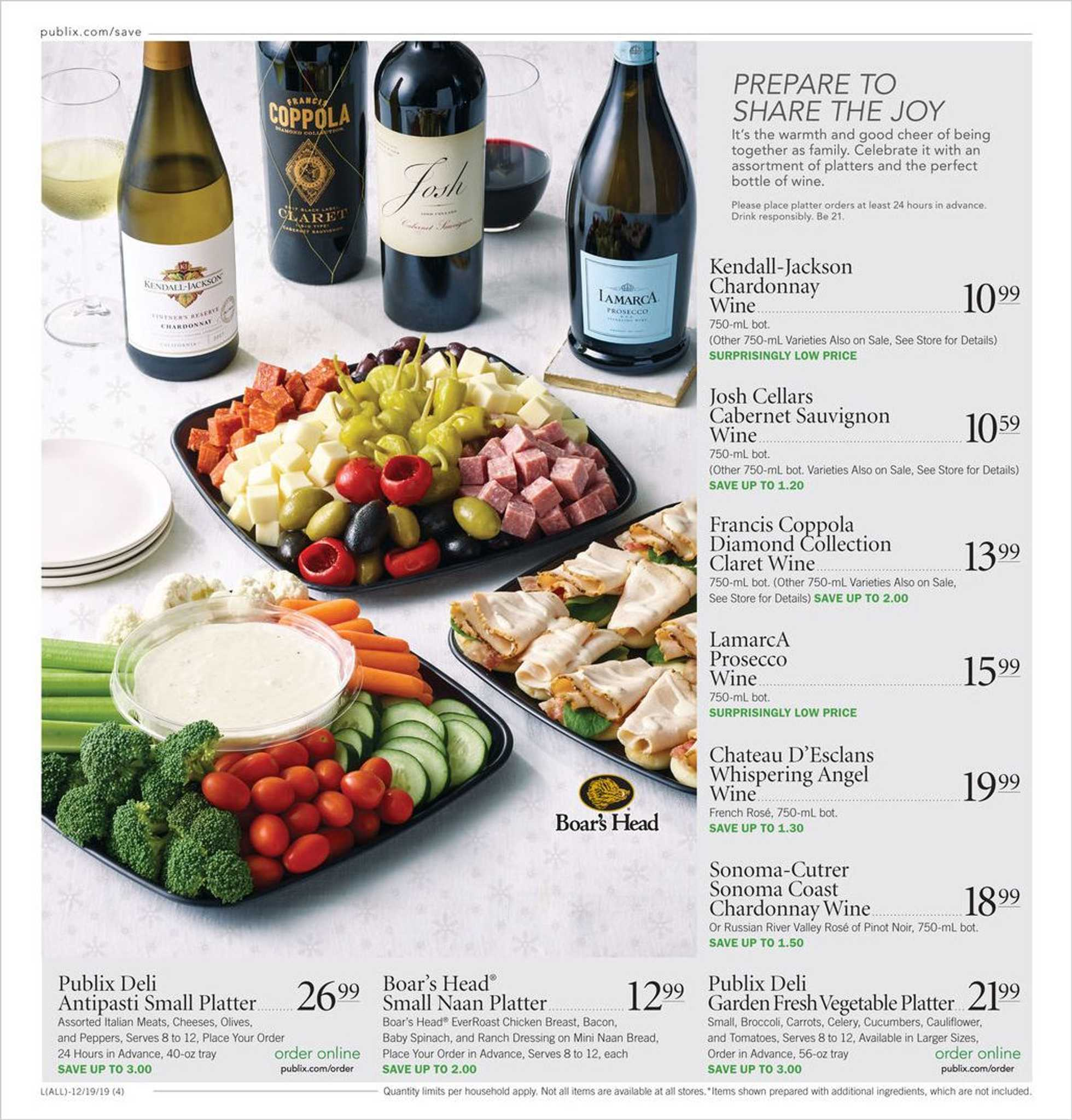 Publix - promo starting from 12/19/19 to 12/24/19 - page 4.