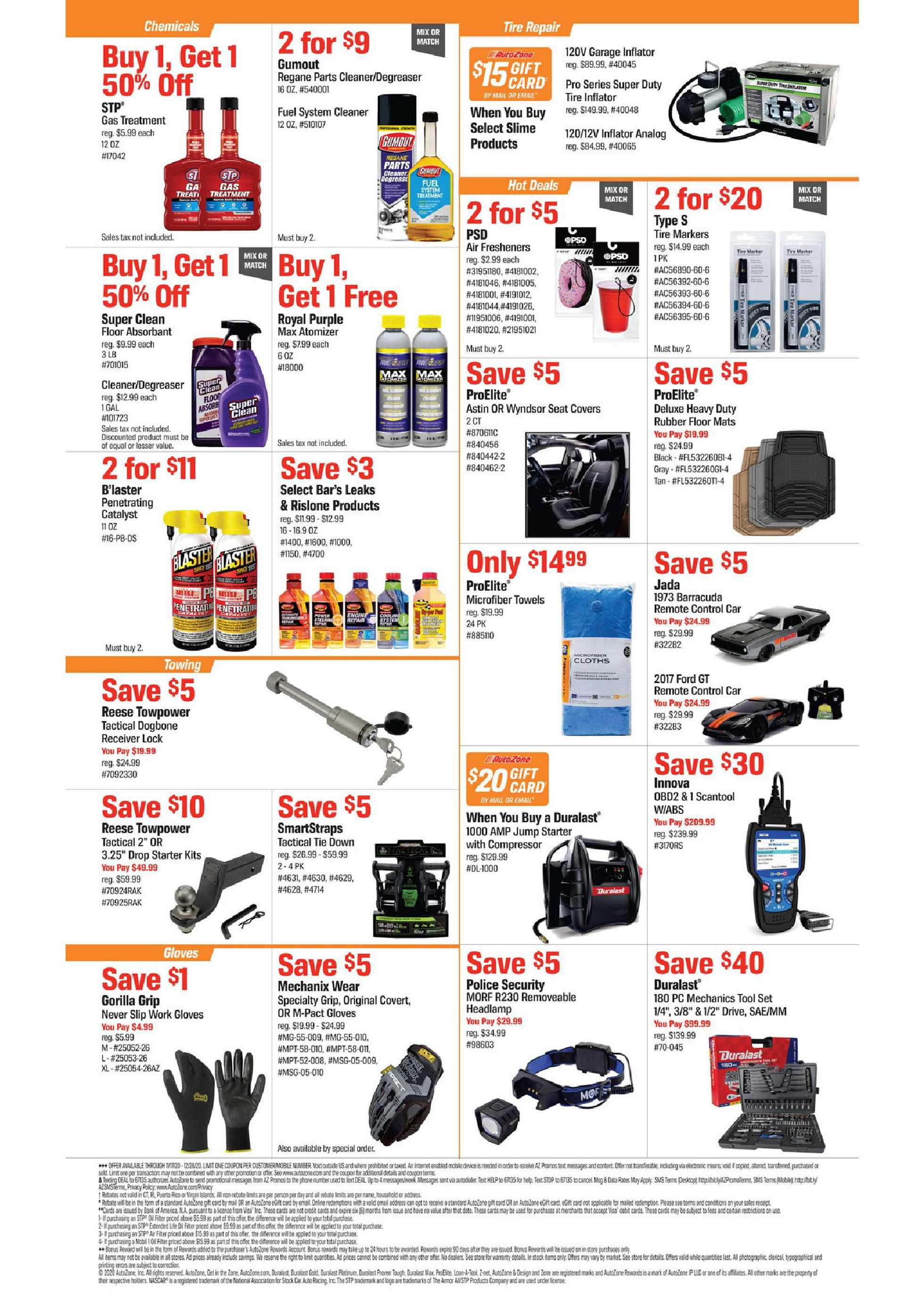 AutoZone - deals are valid from 11/17/20 to 12/28/20 - page 2.