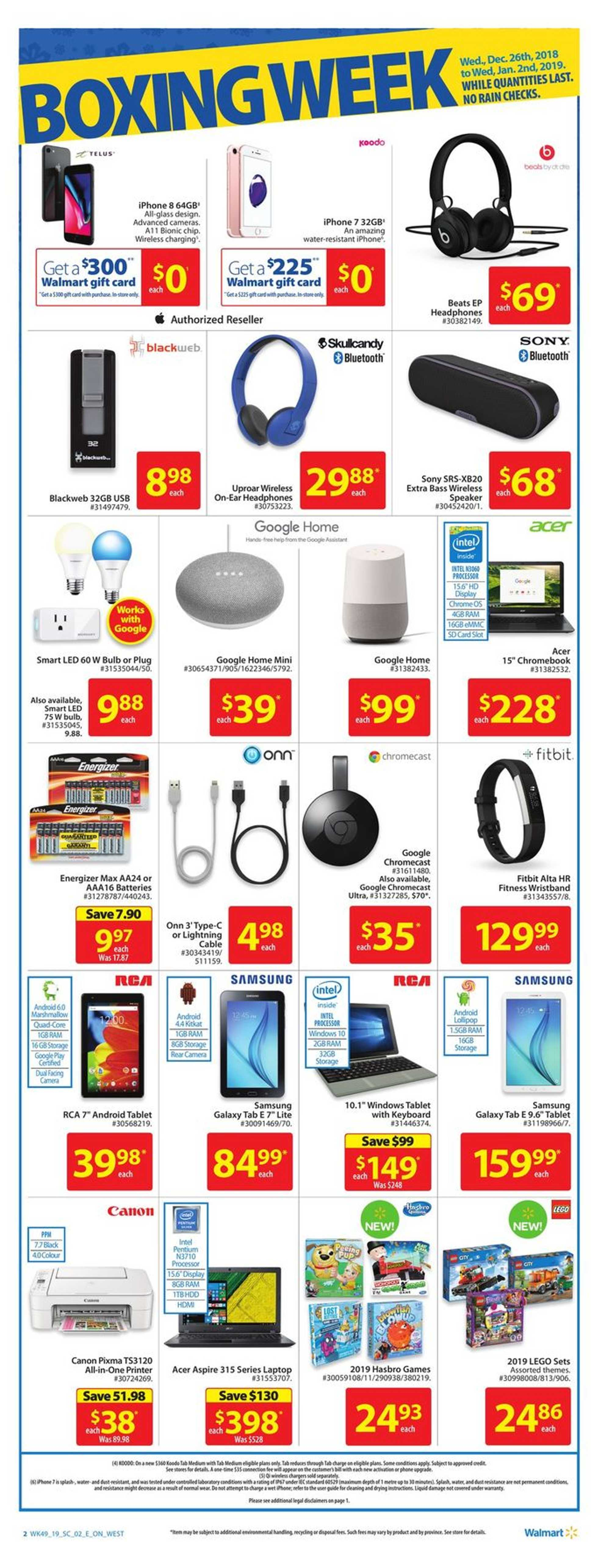 Walmart - deals are valid from 12/26/18 to 01/02/19 - page 2.