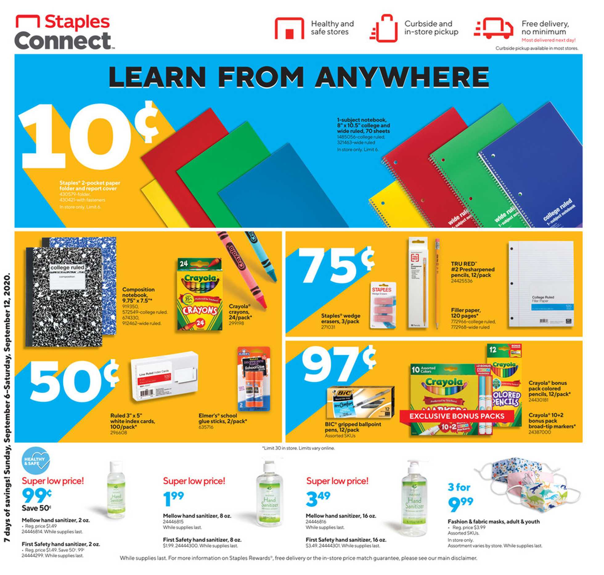 Staples - deals are valid from 09/06/20 to 09/12/20 - page 2.