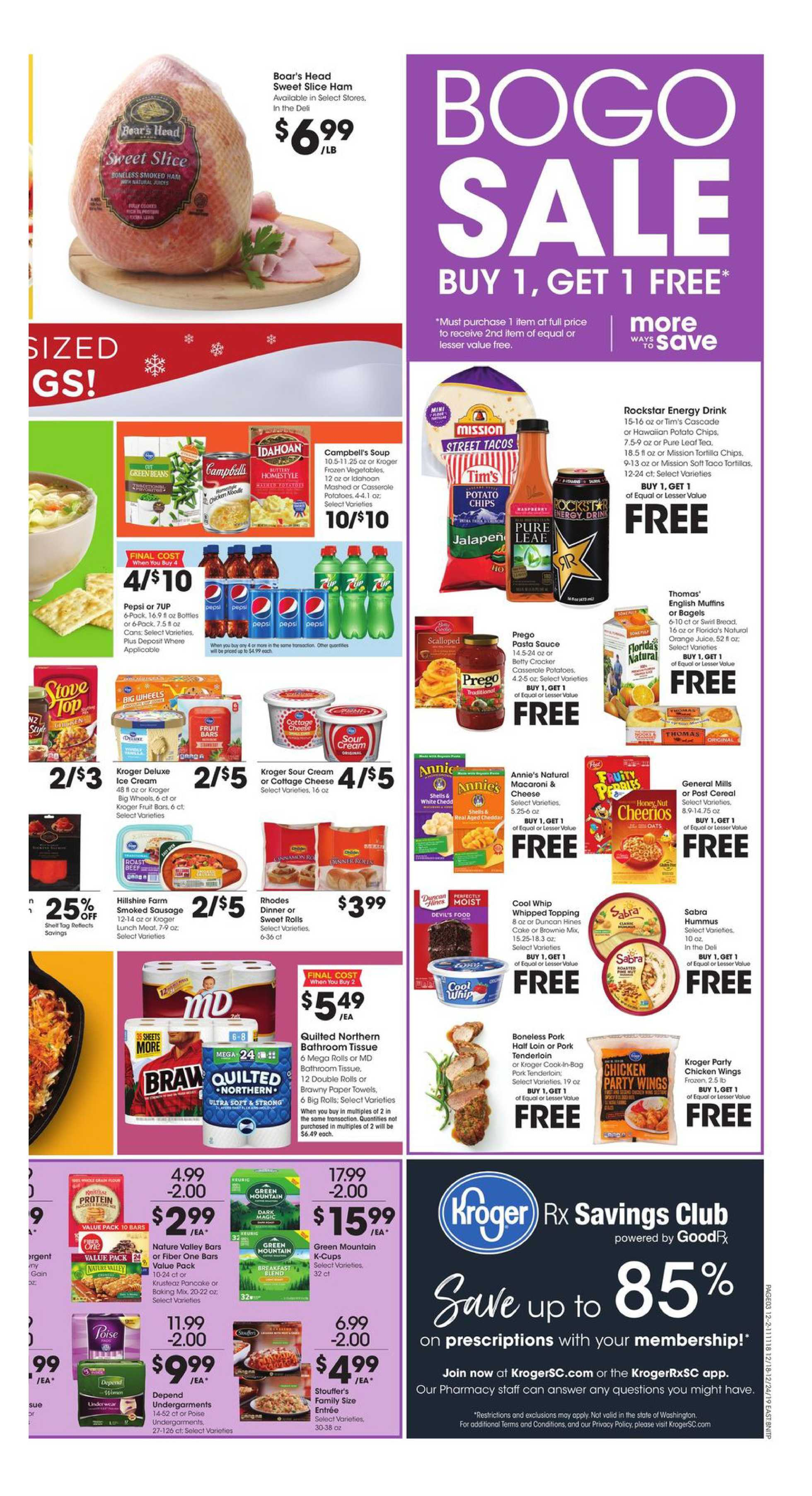 Fred Meyer - deals are valid from 12/18/19 to 12/24/19 - page 3.