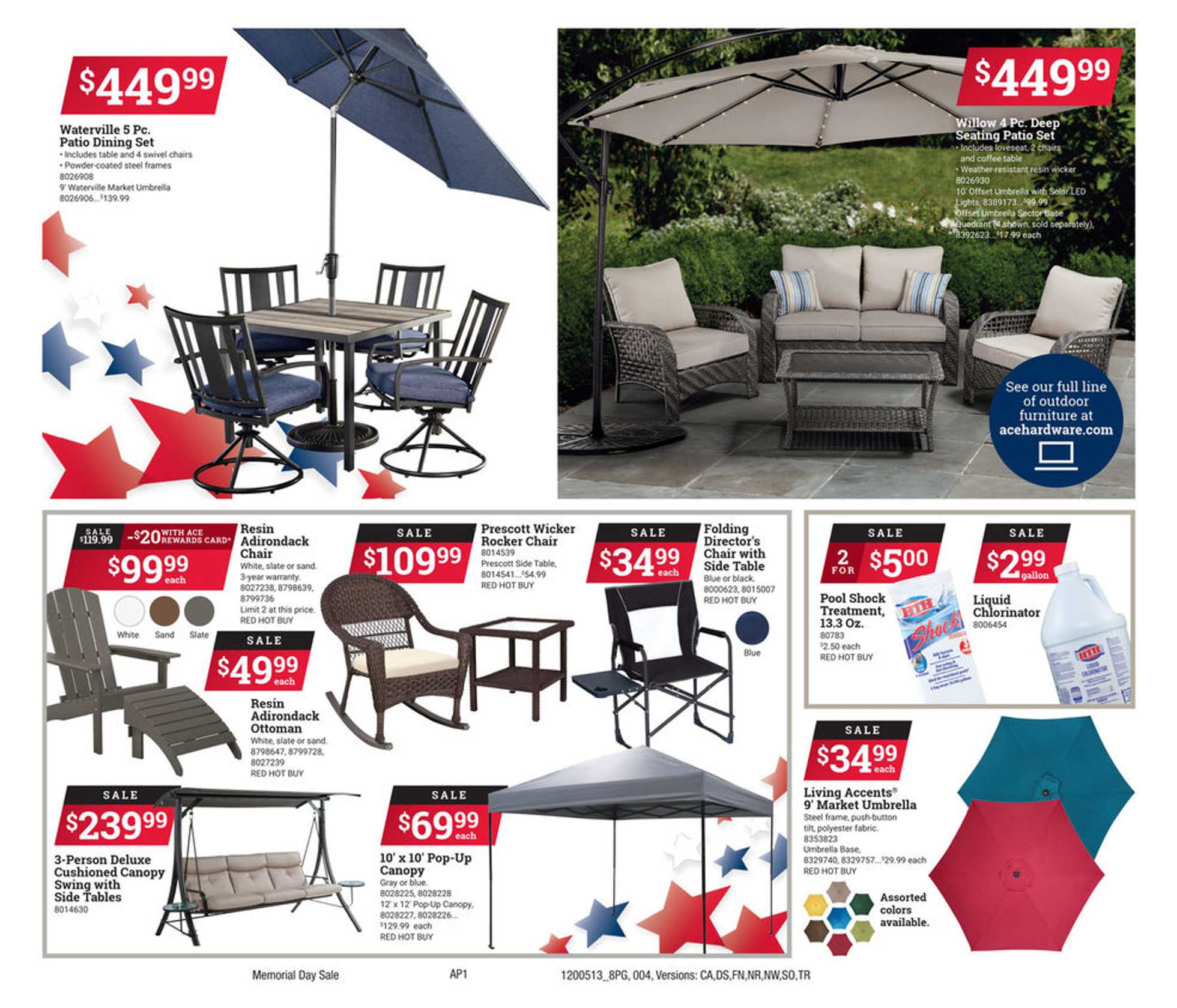 ACE Hardware - deals are valid from 05/13/20 to 05/25/20 - page 4.