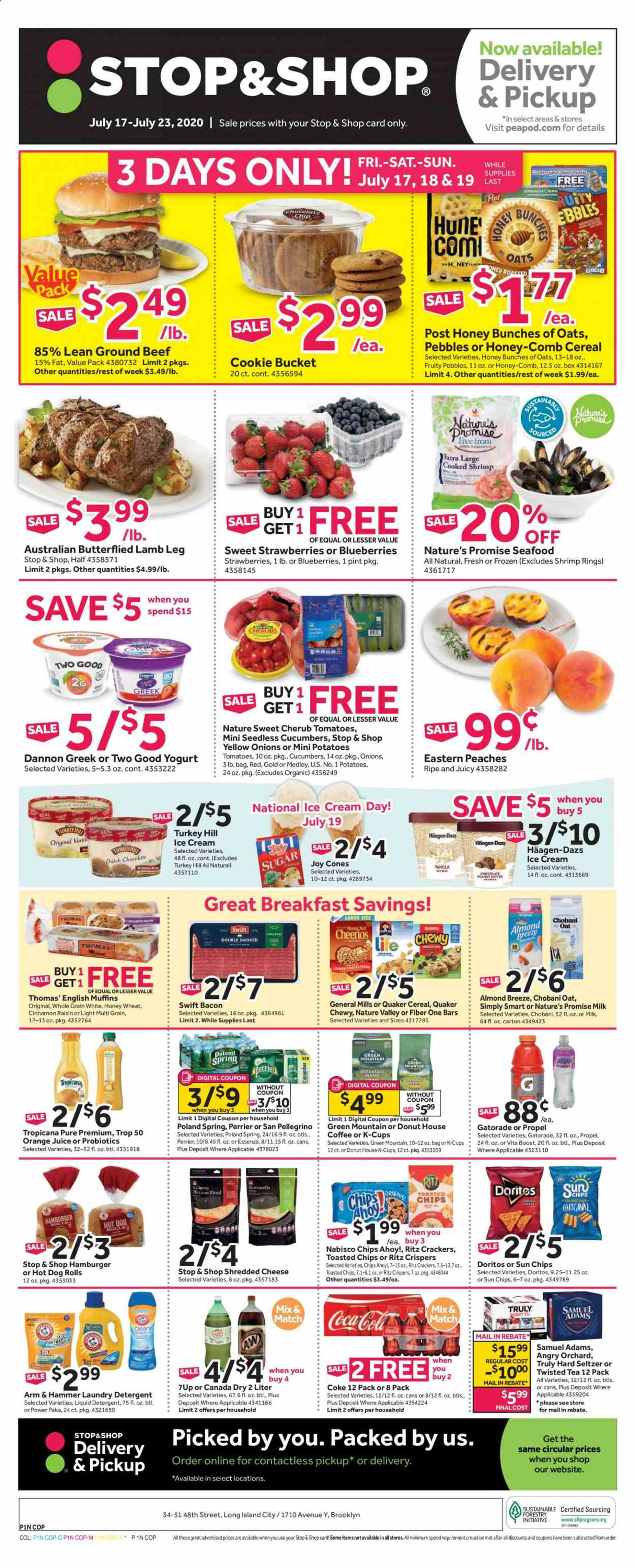 Stop & Shop - deals are valid from 07/17/20 to 07/23/20 - page 1.