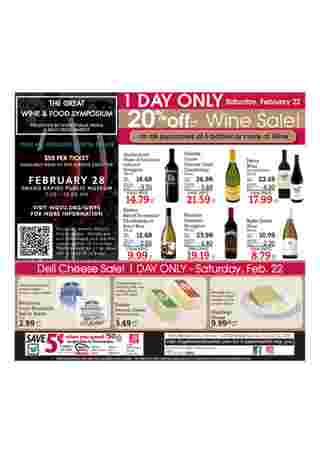 D&W Fresh Market - promo starting from 02/16/20 to 02/22/20 - page 12.