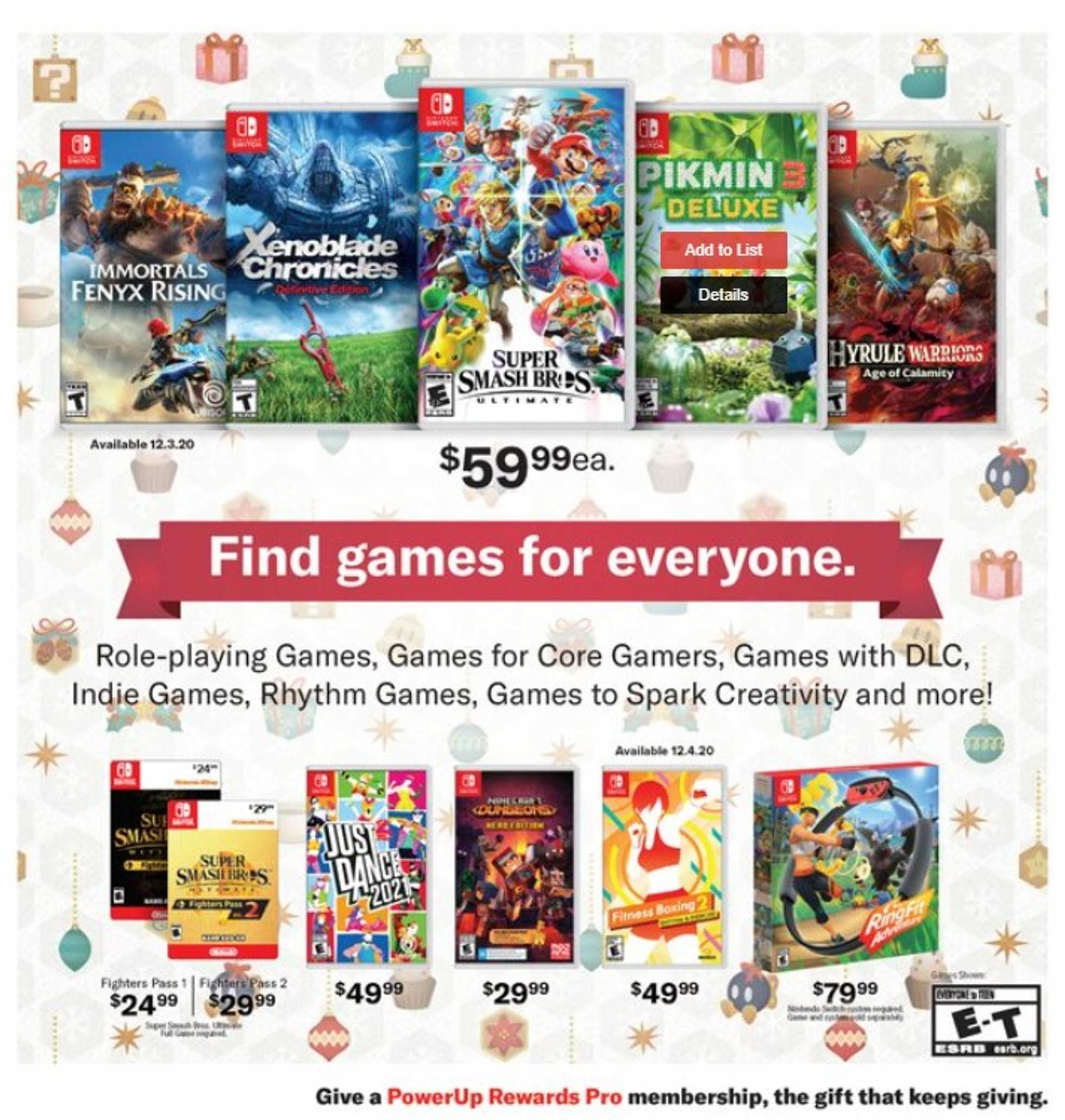GameStop - deals are valid from 10/21/20 to 01/01/21 - page 4.