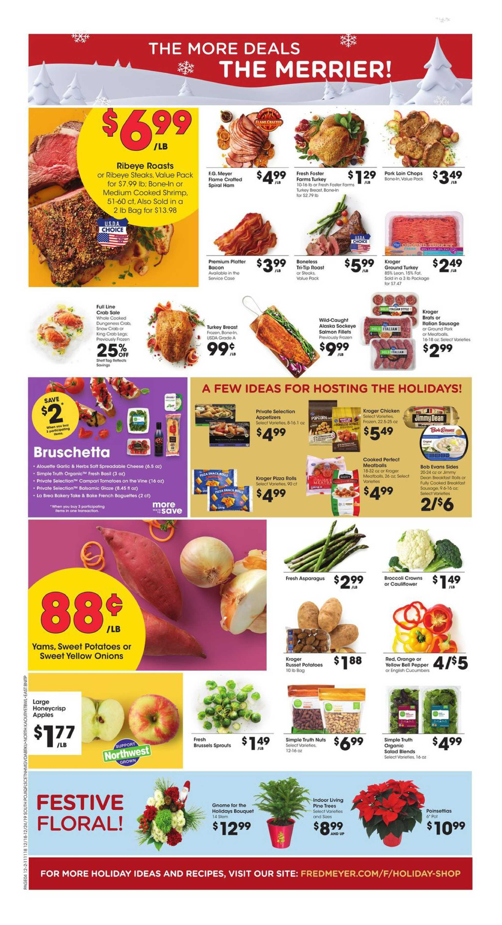 Fred Meyer - deals are valid from 12/18/19 to 12/24/19 - page 4.