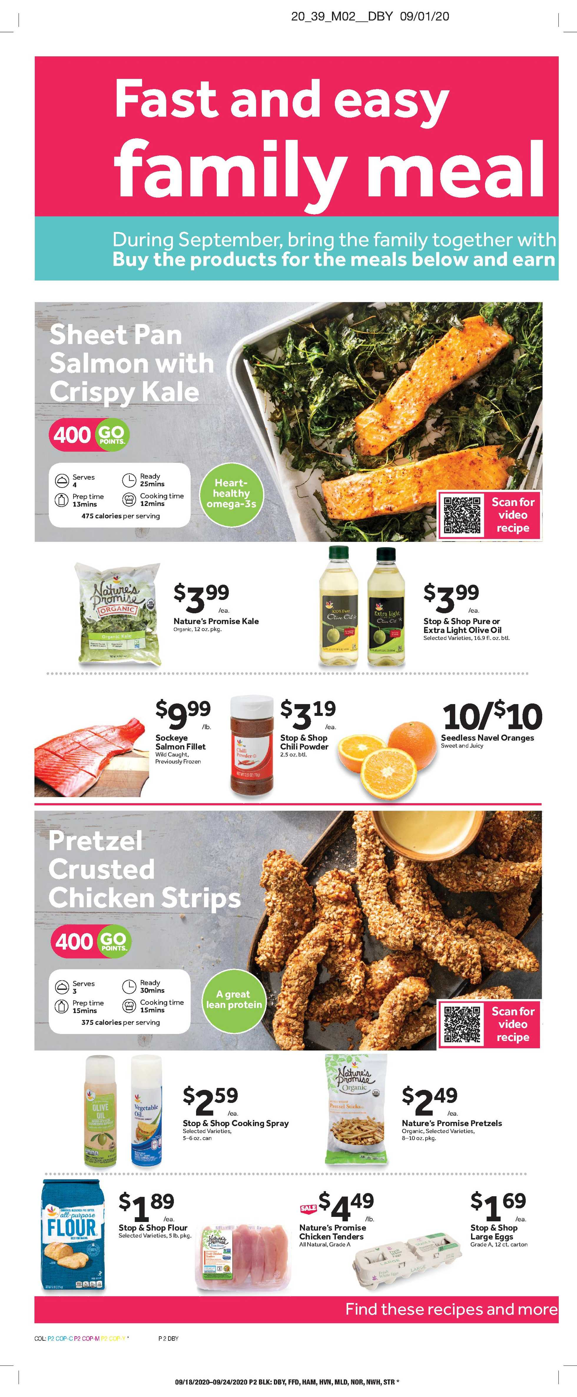Stop & Shop - deals are valid from 09/18/20 to 09/24/20 - page 4.
