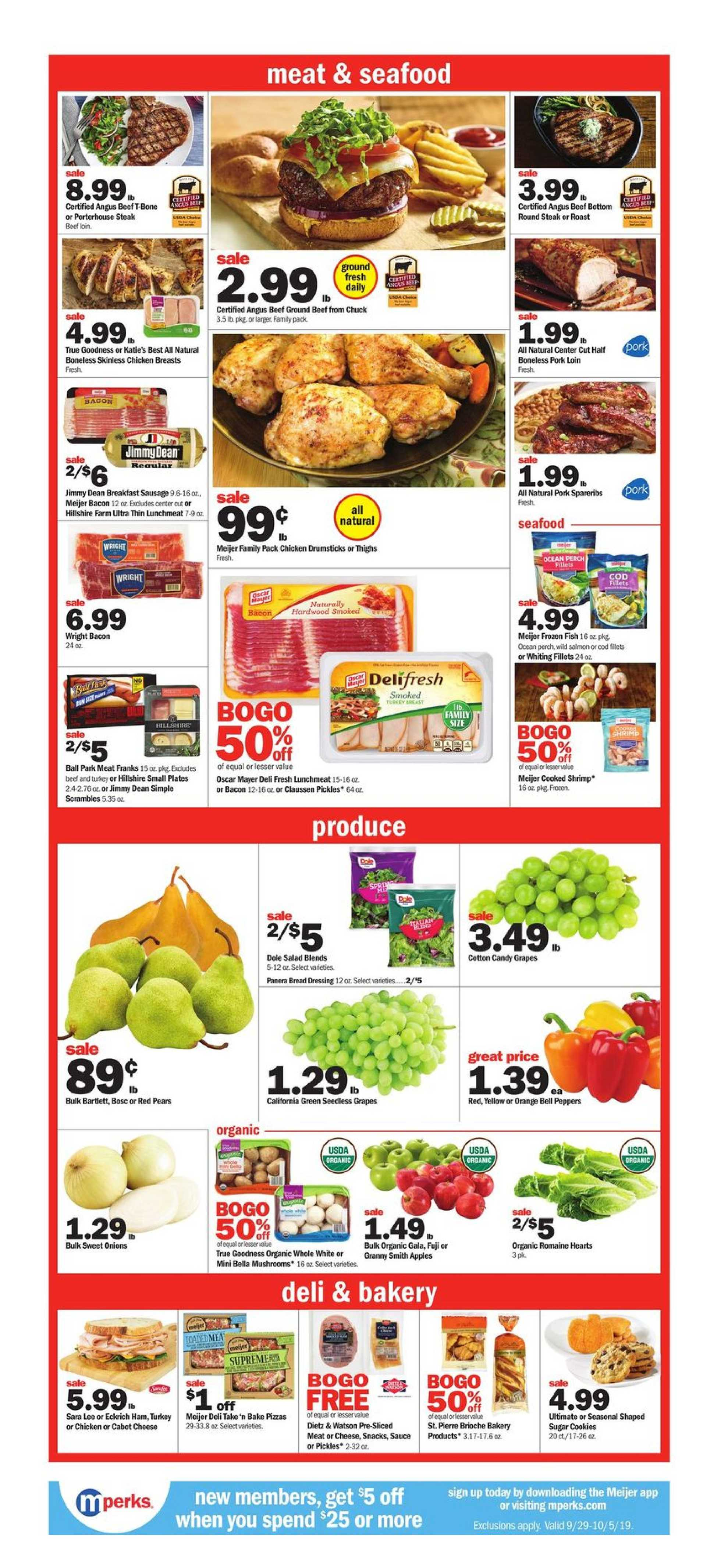Meijer - deals are valid from 09/29/19 to 10/05/19 - page 2.