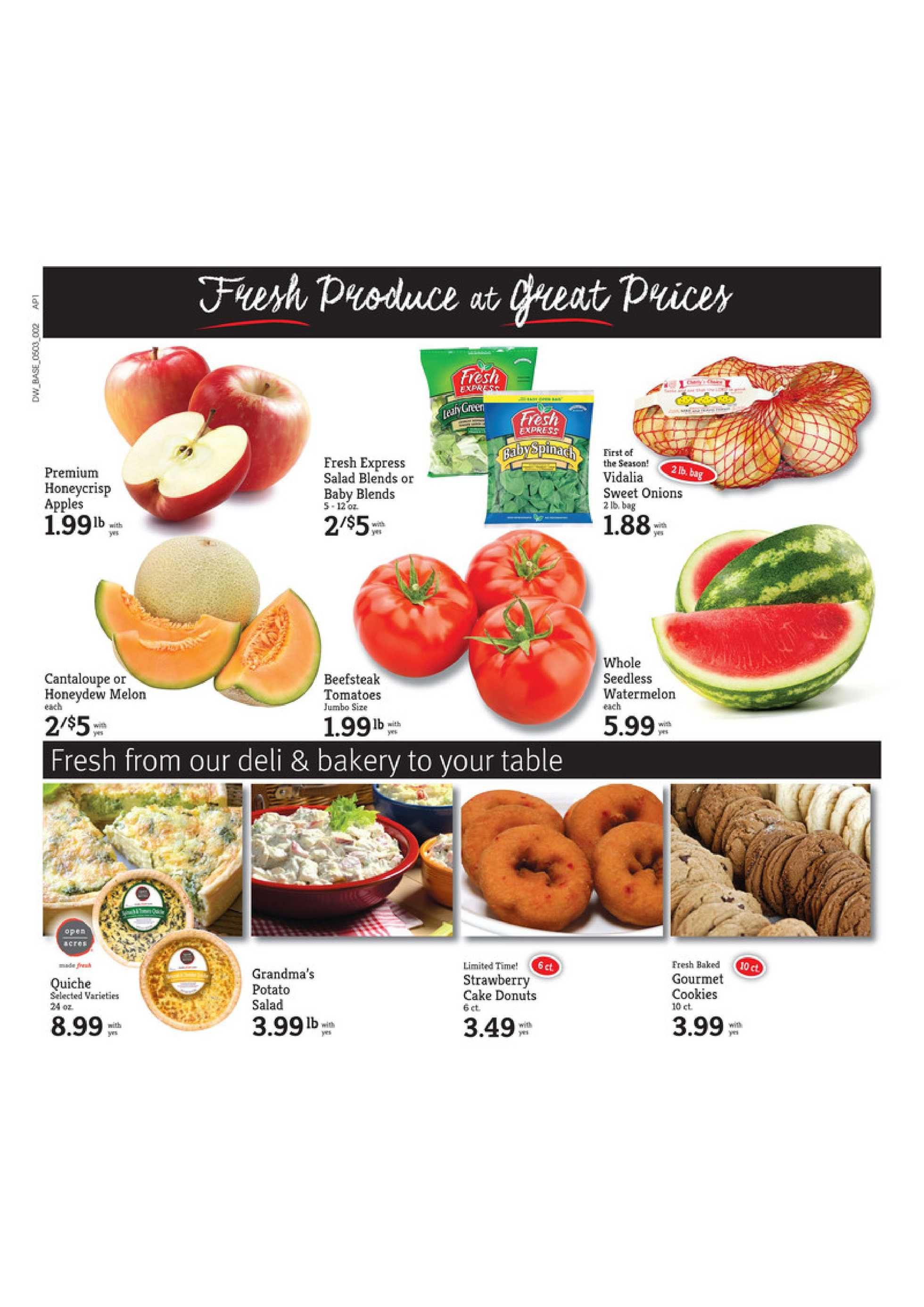 D&W Fresh Market - deals are valid from 05/03/20 to 05/09/20 - page 2.