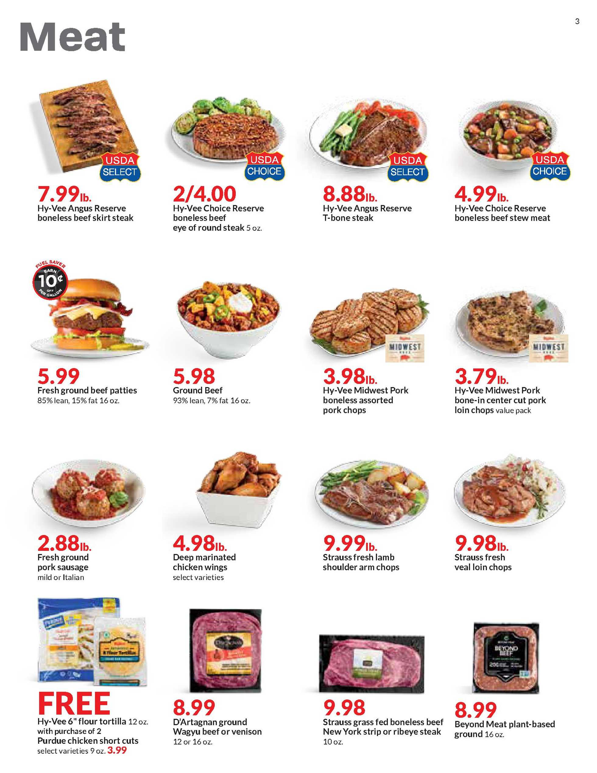 Hy-Vee - deals are valid from 01/27/21 to 02/02/21 - page 3.