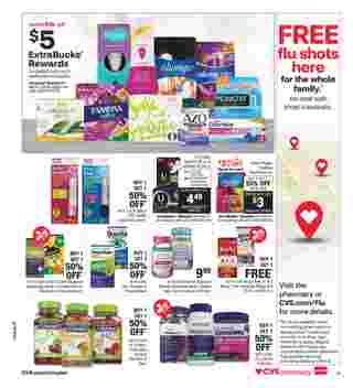CVS - deals are valid from 10/07/20 to 10/20/20 - page 18.