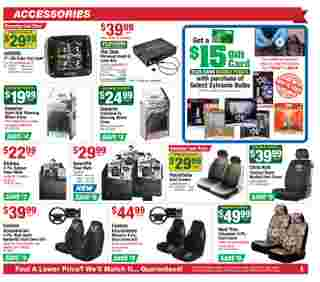 O'reilly - deals are valid from 11/25/20 to 12/29/20 - page 5.