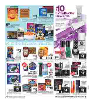 CVS - deals are valid from 10/06/19 to 10/12/19 - page 5.