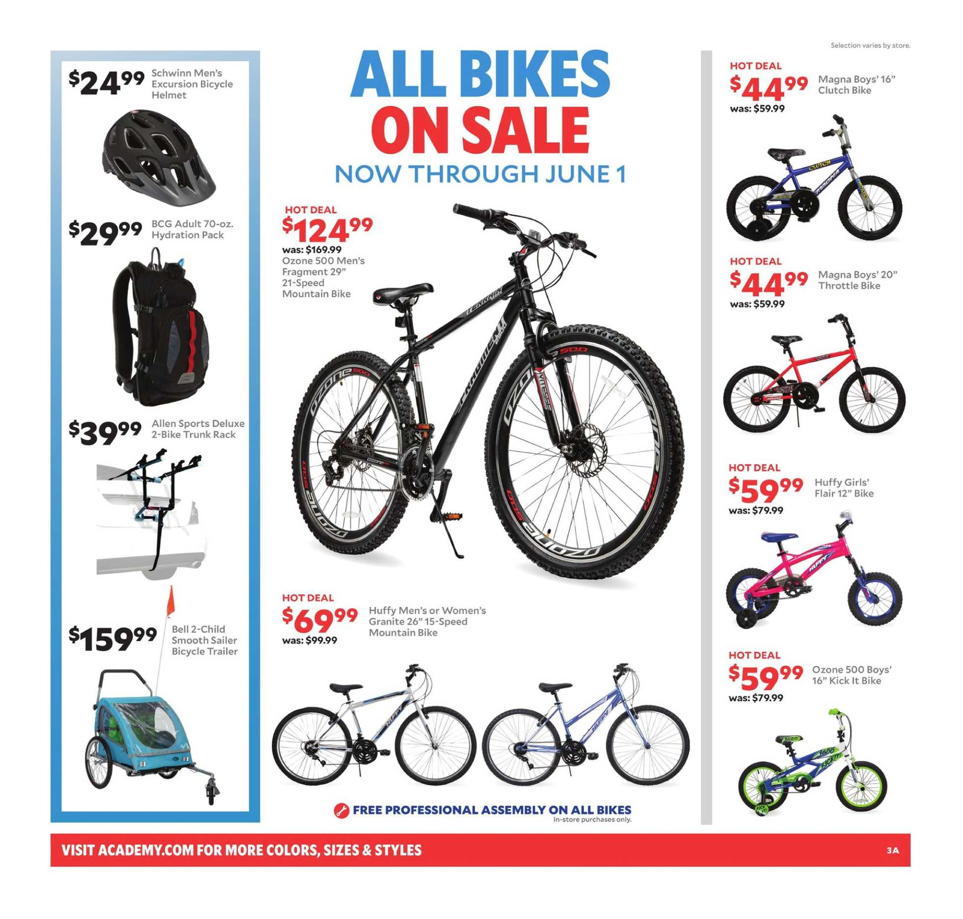 Academy Sports + Outdoors - deals are valid from 05/26/19 to 06/01/19 - page 4.