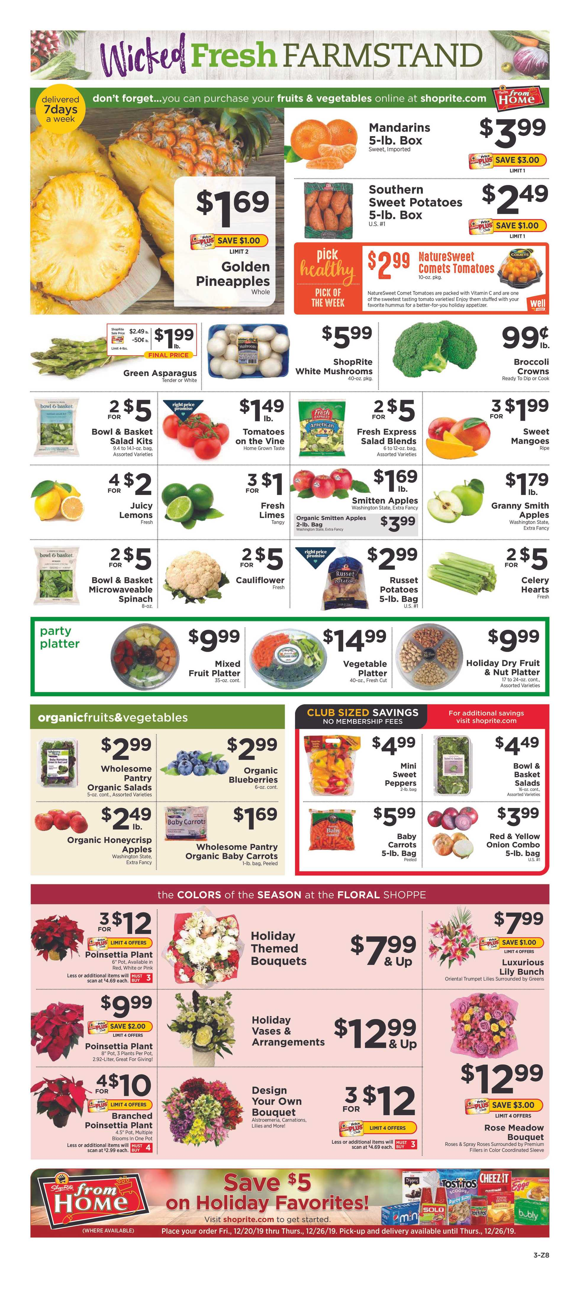 ShopRite - deals are valid from 12/22/19 to 12/28/19 - page 3.