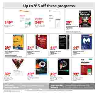 Staples - deals are valid from 01/05/20 to 01/11/20 - page 16.