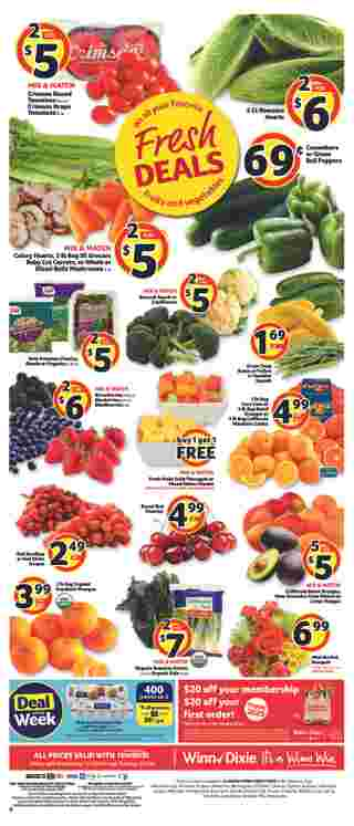 Winn Dixie - deals are valid from 01/01/20 to 01/07/20 - page 8.