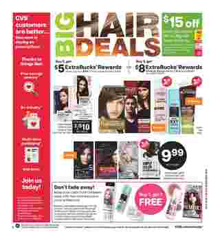 CVS - deals are valid from 03/22/20 to 03/28/20 - page 10.
