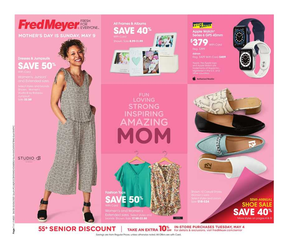 Fred Meyer - deals are valid from 04/28/21 to 05/04/21 - page 1.