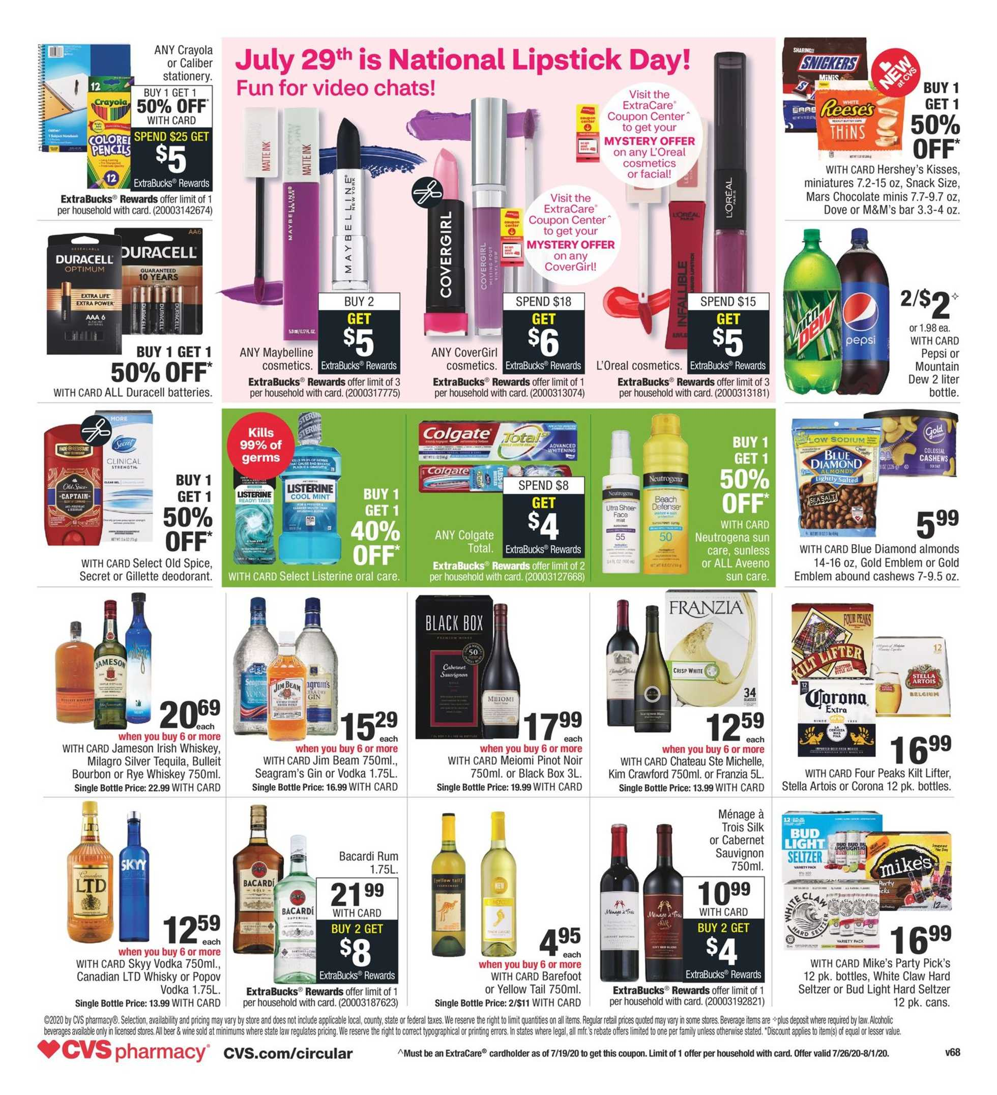 CVS - deals are valid from 07/26/20 to 08/01/20 - page 2.