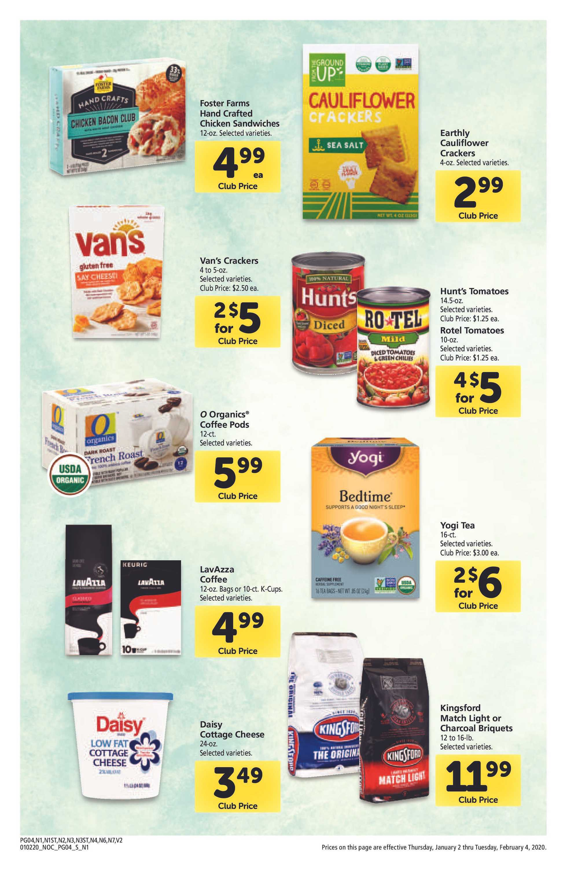 Safeway - deals are valid from 01/02/20 to 02/04/20 - page 4.