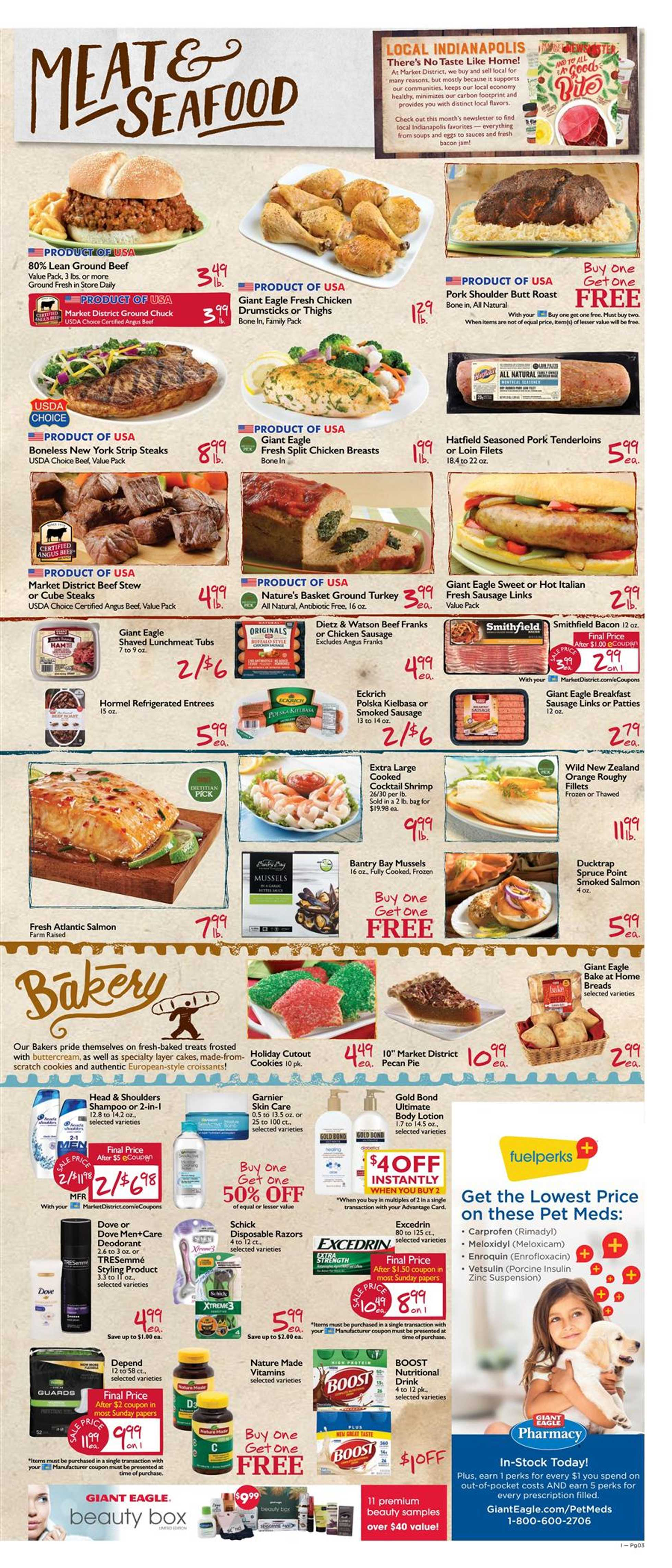 Market District - deals are valid from 12/05/19 to 12/11/19 - page 3.