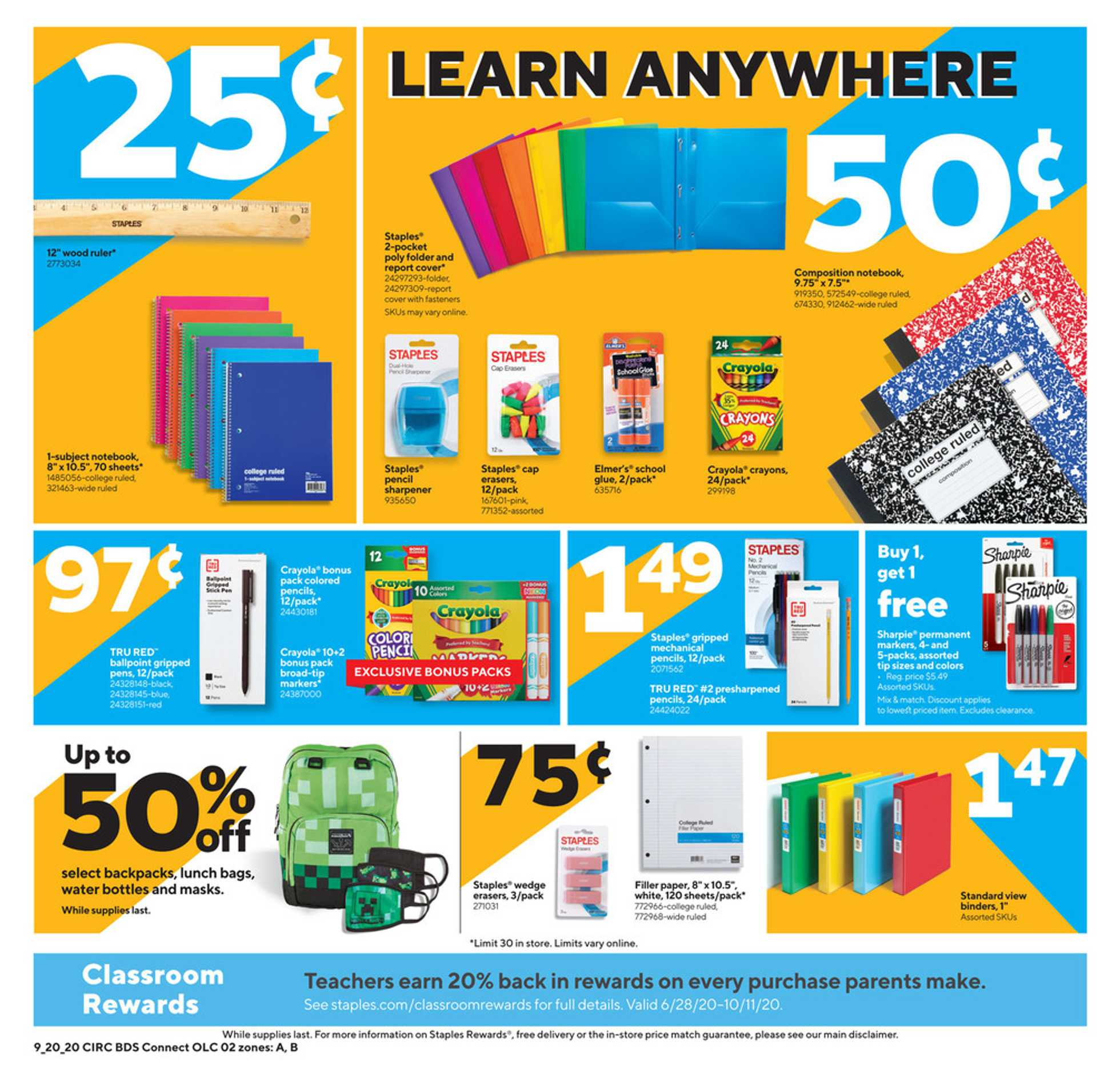 Staples - deals are valid from 09/20/20 to 09/26/20 - page 2.