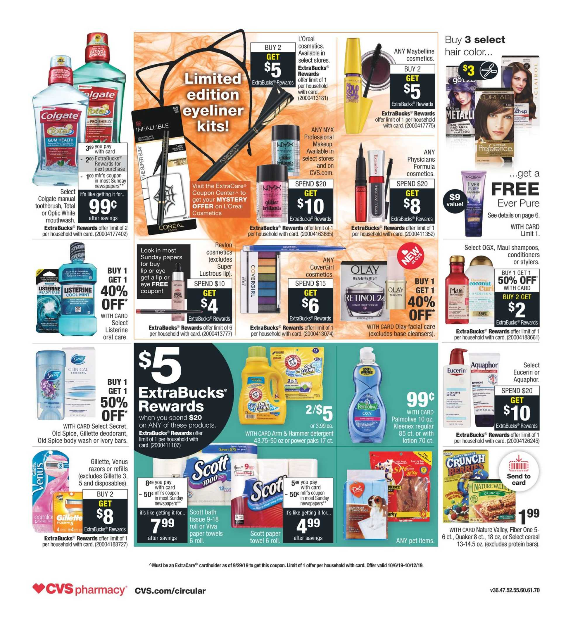 CVS - deals are valid from 10/06/19 to 10/12/19 - page 2.