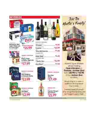 Martin's - deals are valid from 10/18/20 to 10/24/20 - page 10.