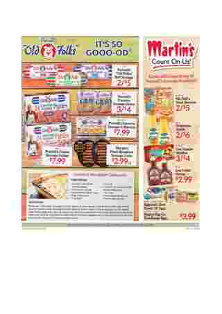Martin's - deals are valid from 10/18/20 to 10/24/20 - page 12.