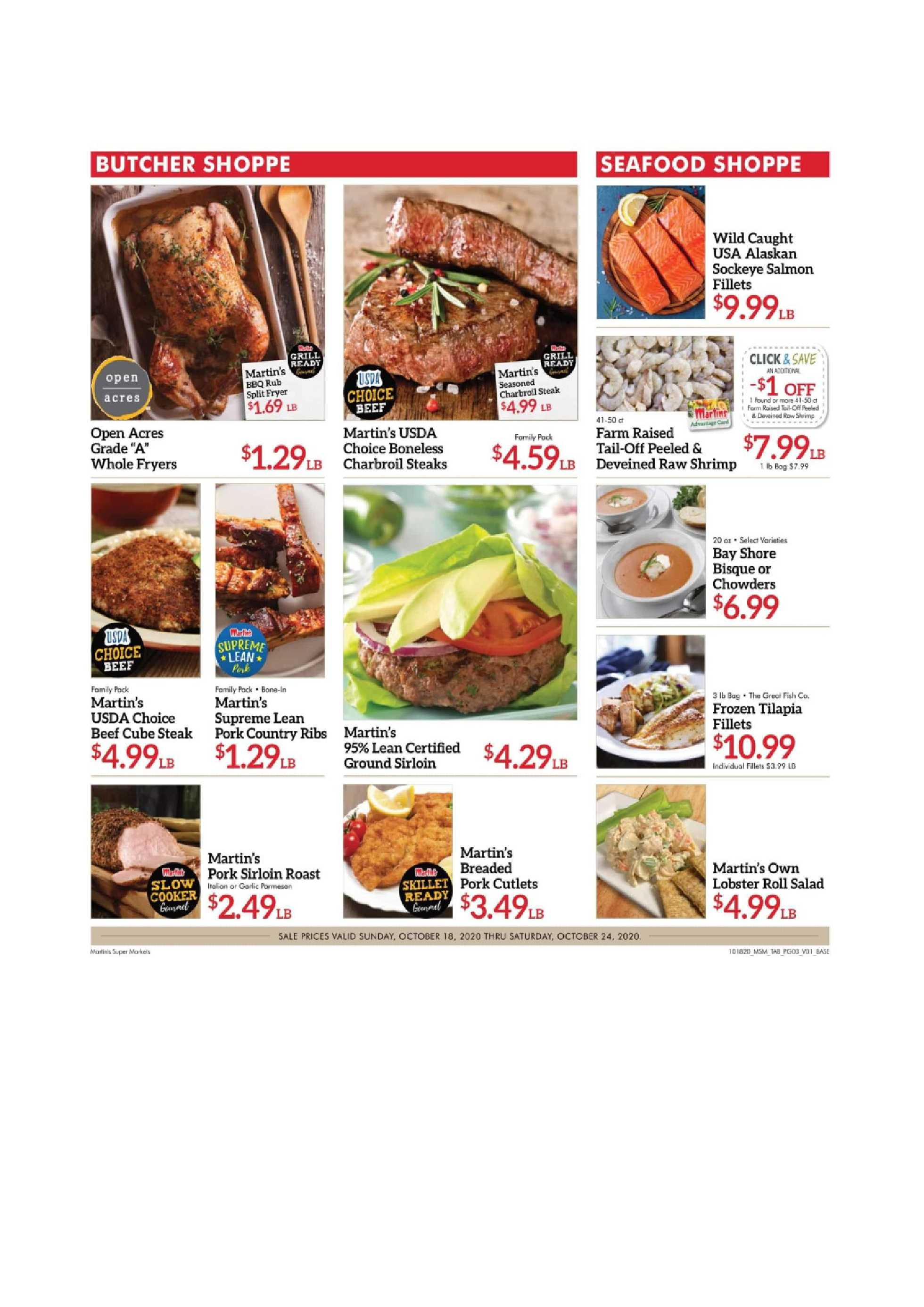 Martin's - deals are valid from 10/18/20 to 10/24/20 - page 3.