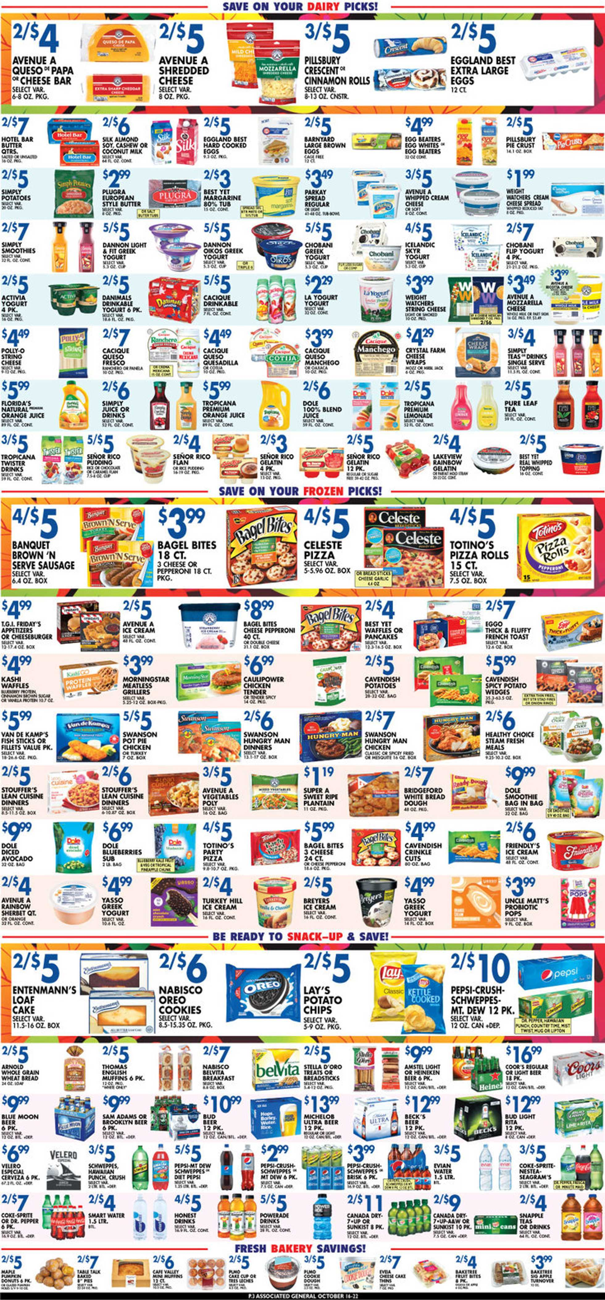 Associated Supermarkets - deals are valid from 10/16/20 to 10/22/20 - page 3.