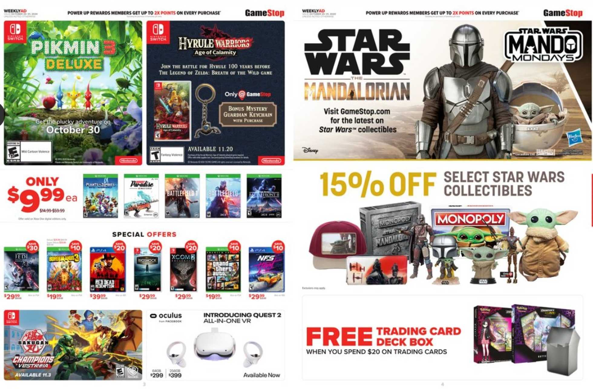 GameStop - deals are valid from 10/25/20 to 10/31/20 - page 2.