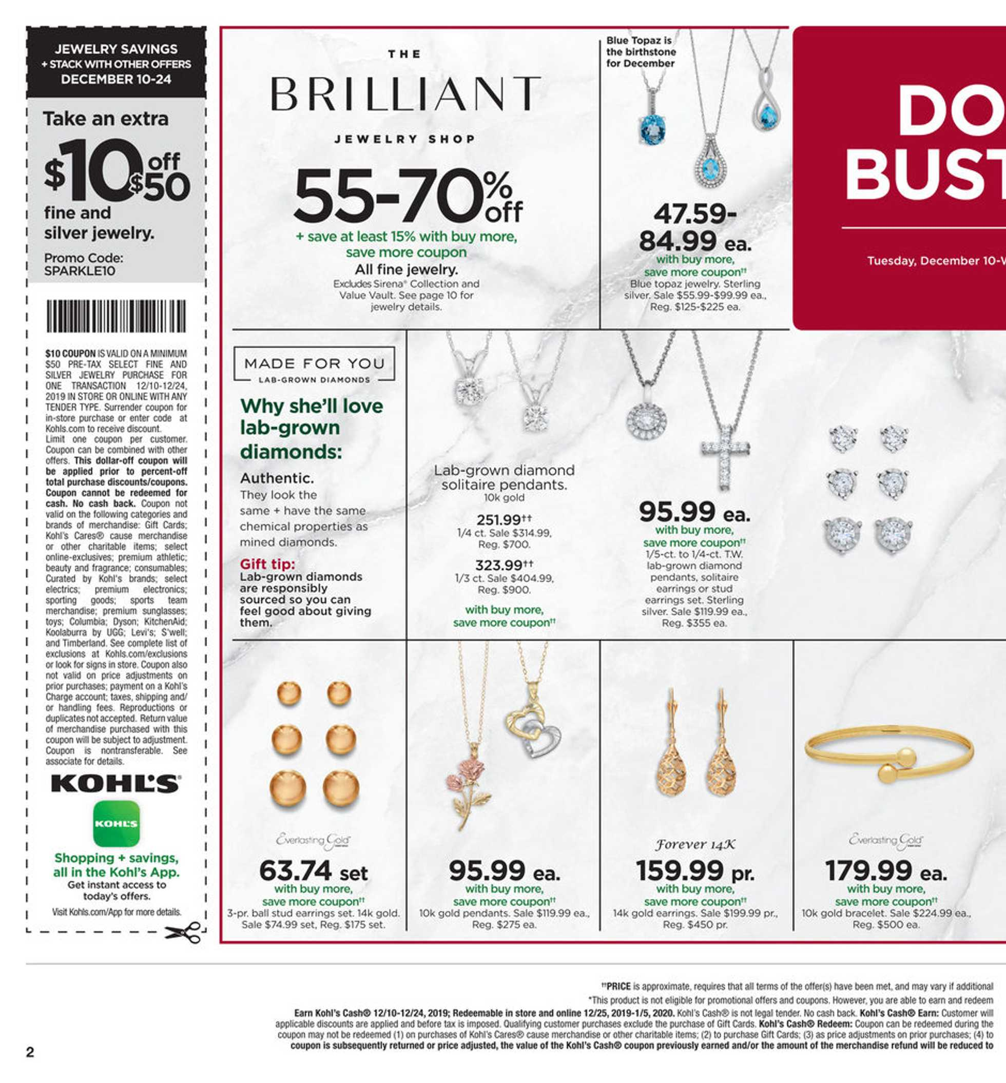 Kohl's - deals are valid from 12/10/19 to 12/19/19 - page 2.