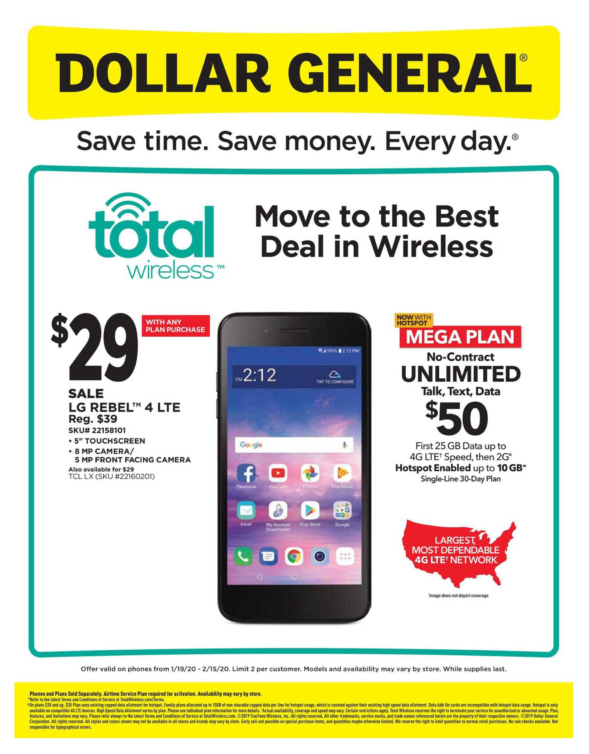 Dollar General - deals are valid from 01/19/20 to 02/15/20 - page 2.