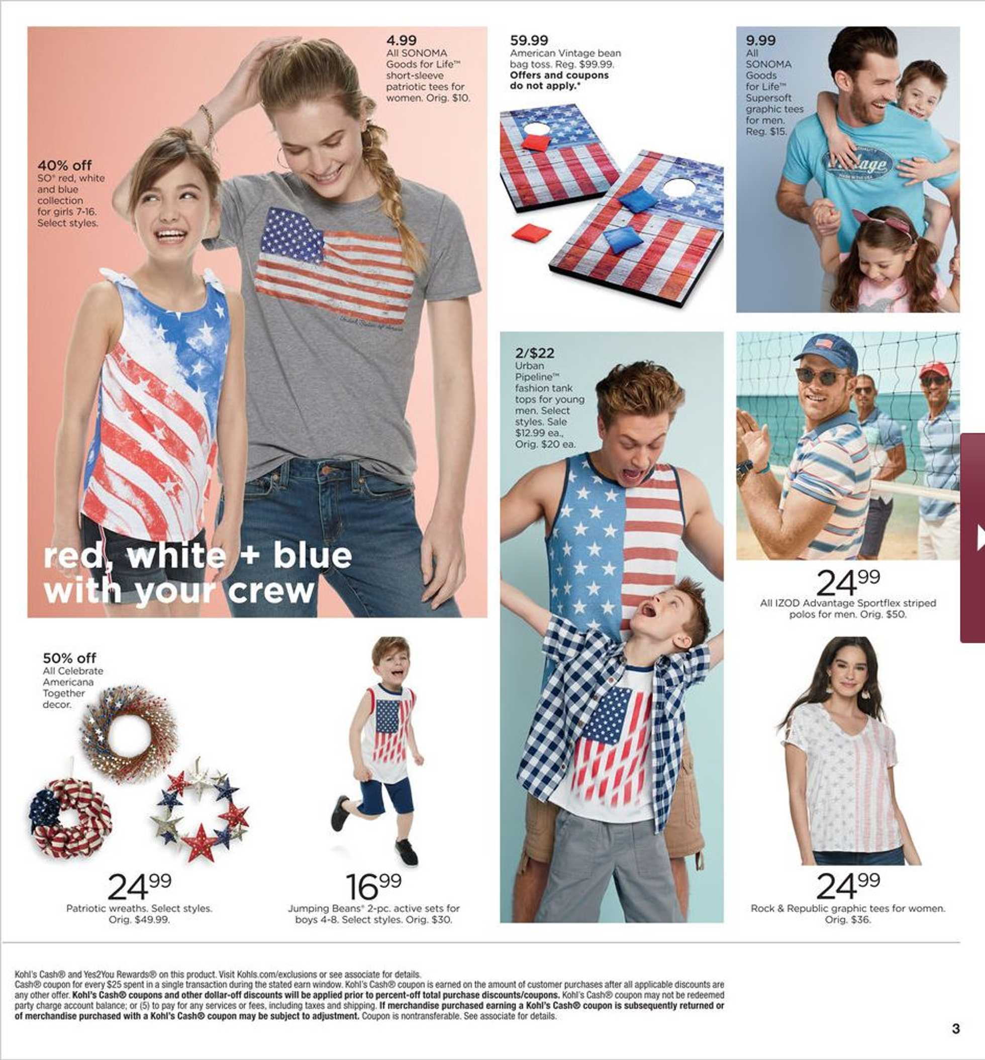 Kohl's - deals are valid from 05/23/19 to 05/27/19 - page 3.