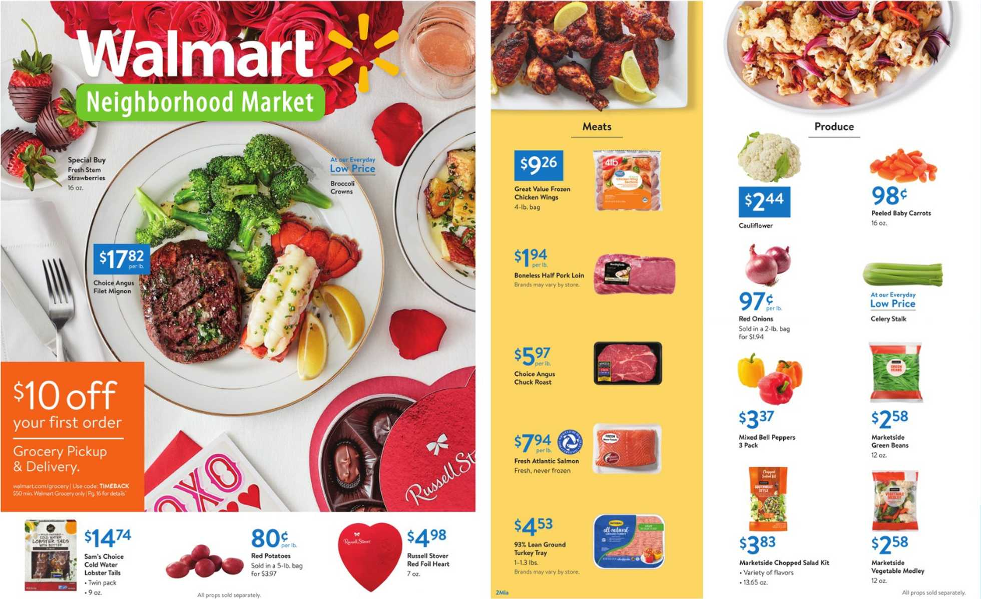 Walmart - deals are valid from 01/31/20 to 02/14/20 - page 1.