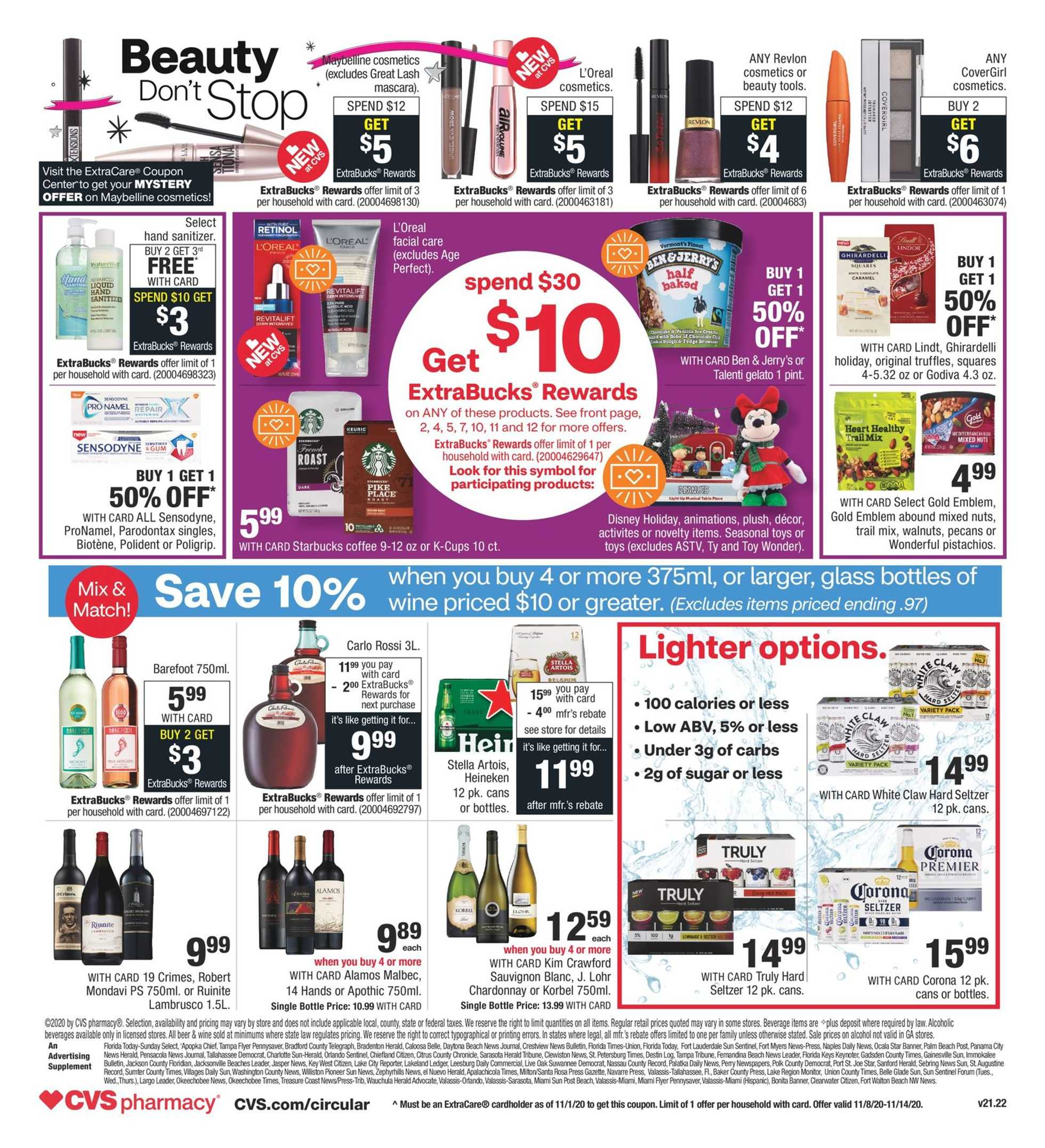 CVS - deals are valid from 11/08/20 to 11/14/20 - page 2.