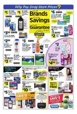 Dollar General - promo starting from 03/10/19 to 03/16/19 - page 11.