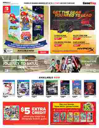 GameStop - deals are valid from 09/27/20 to 10/03/20 - page 5.