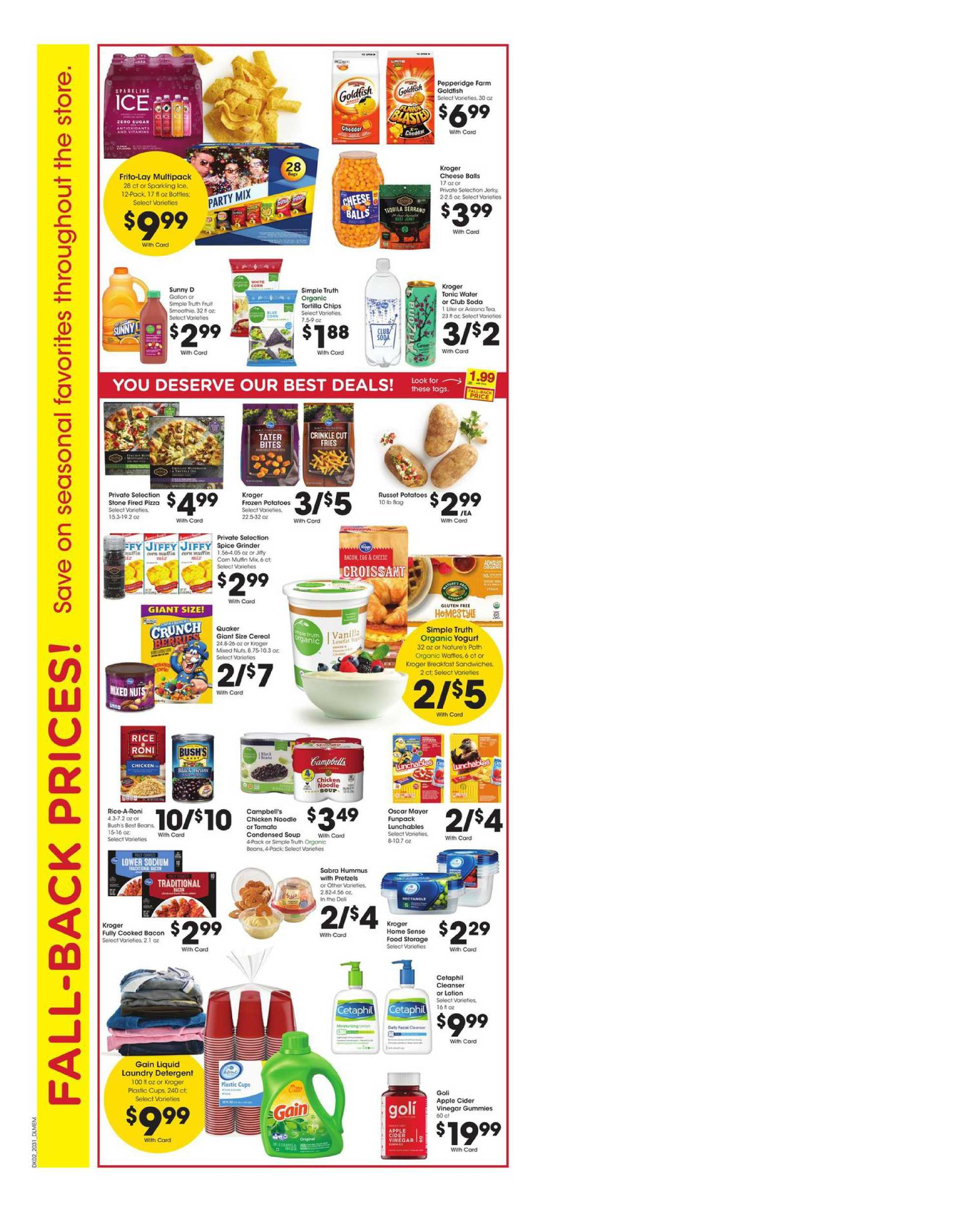 Kroger - deals are valid from 09/02/20 to 09/08/20 - page 3.